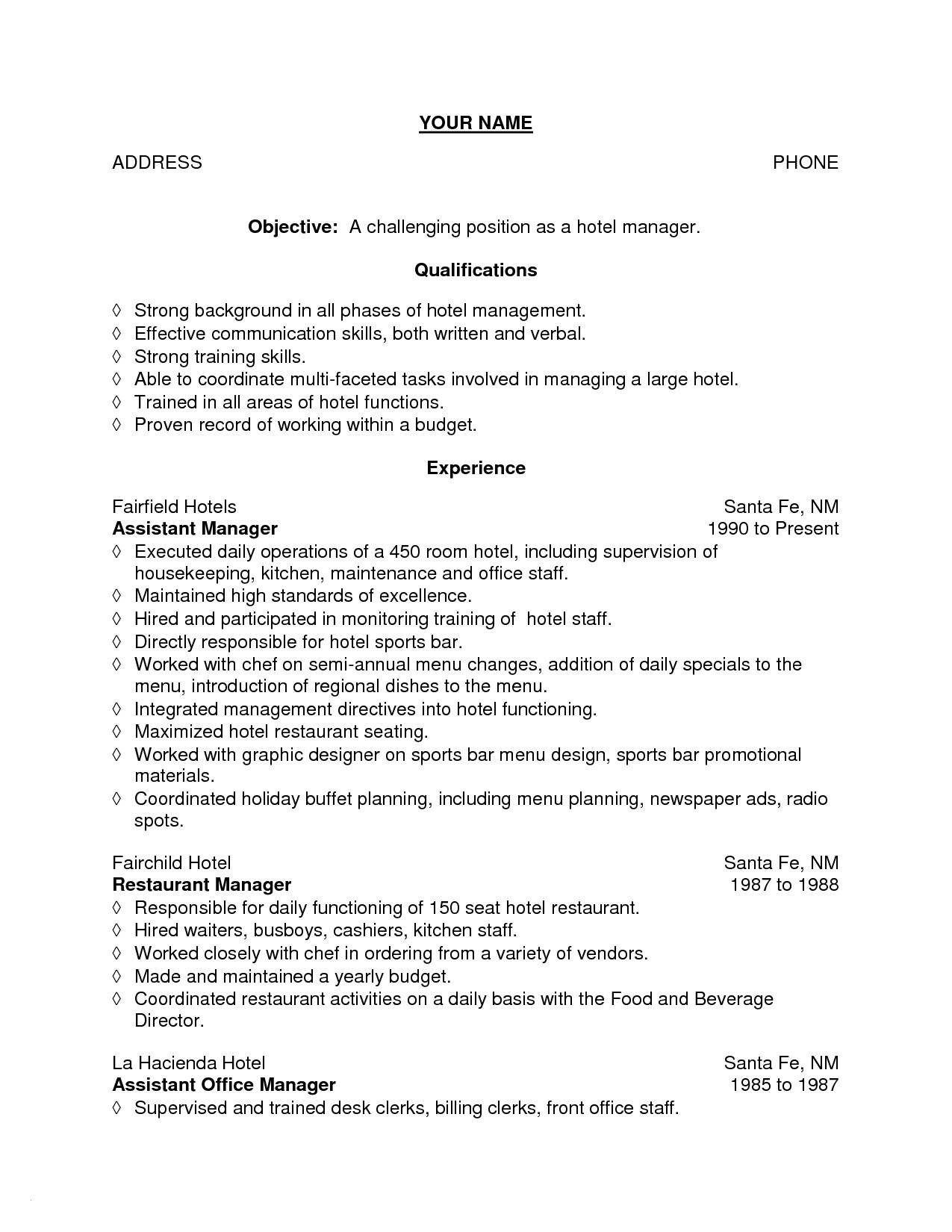 Hospitality Manager Resume - Restaurant Managers Resume Inspirational Fresh Grapher Resume Sample
