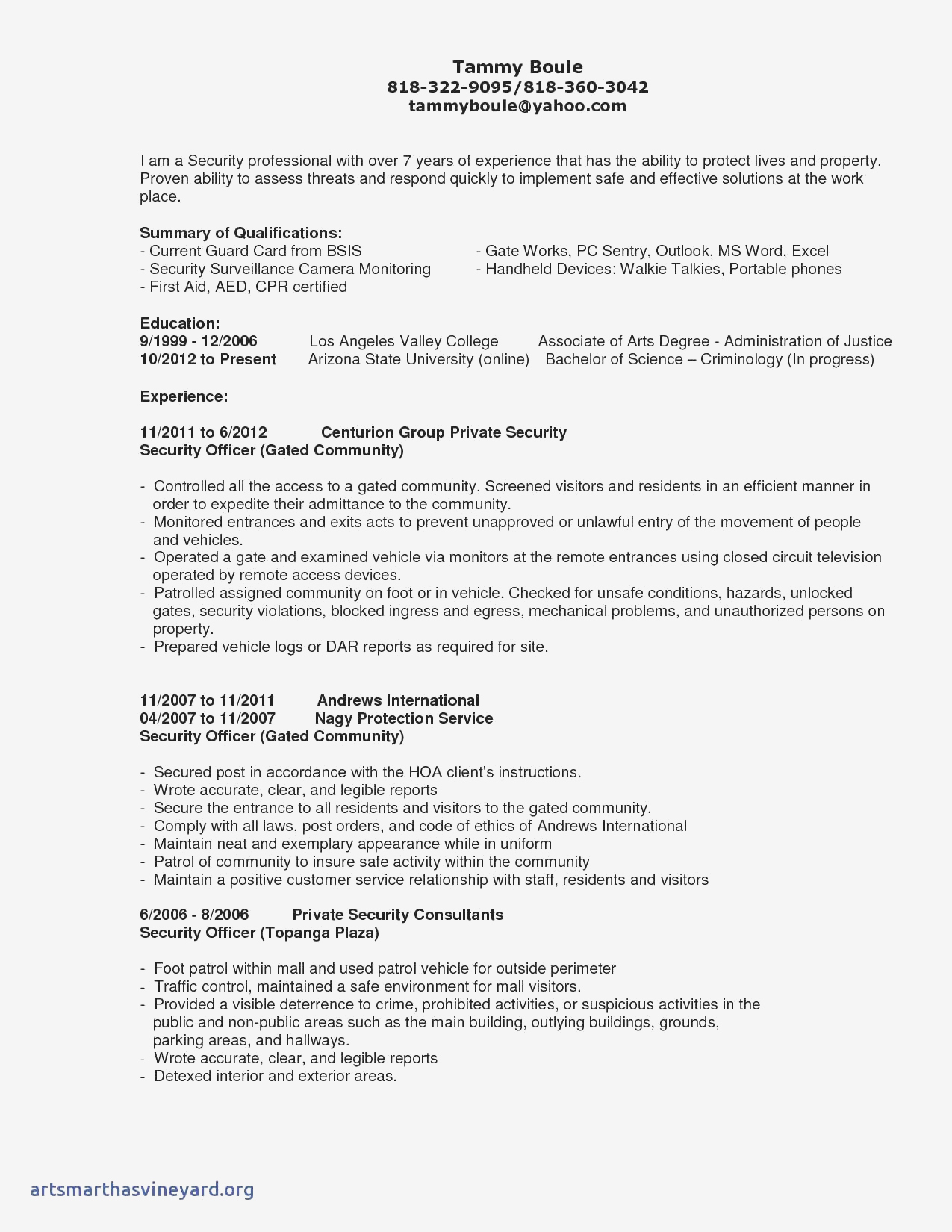 Hr Generalist Resume Template - Generalist Sample Resumes