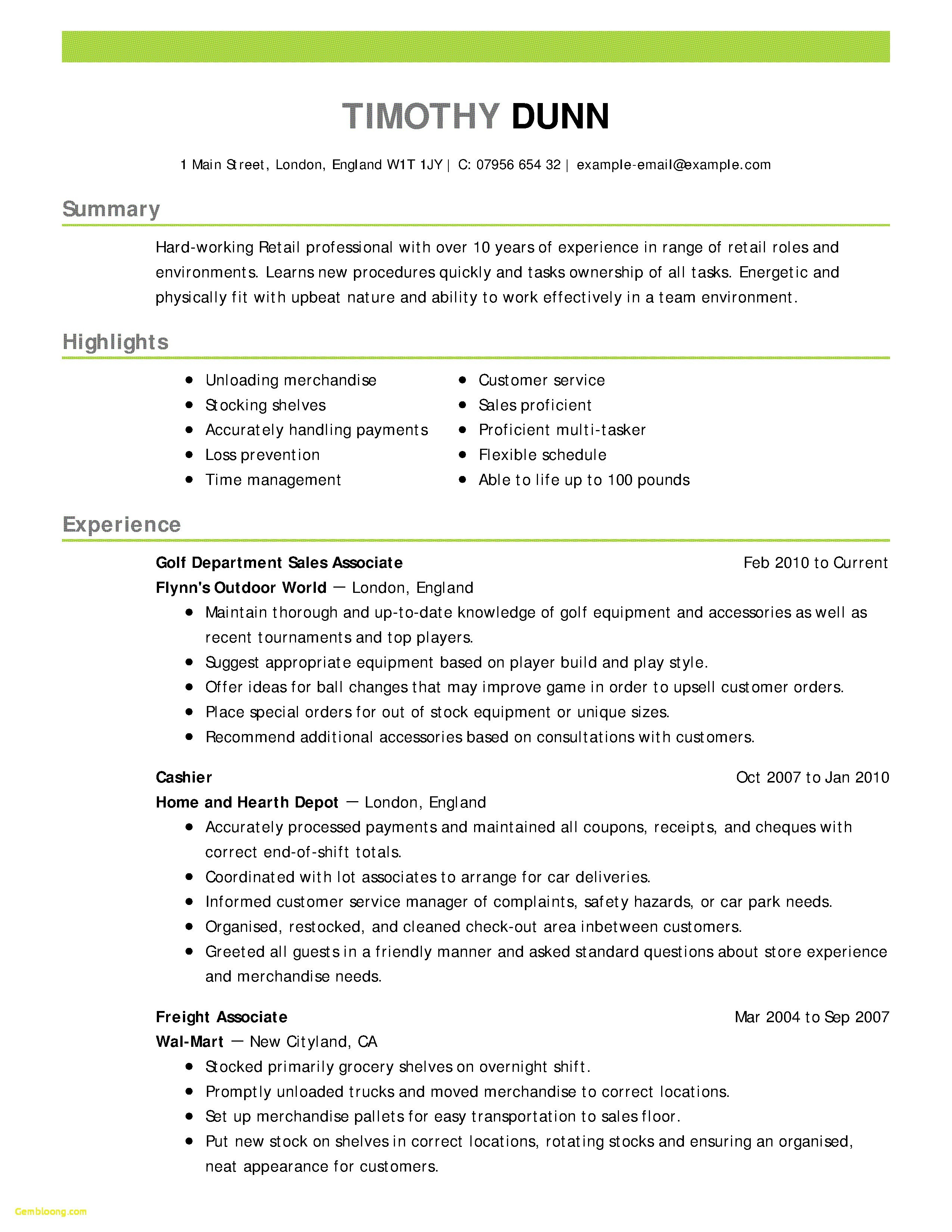 Hvac Resume Template - Hvac Resume Template Fresh Hvac Resume Samples Inspirational 22