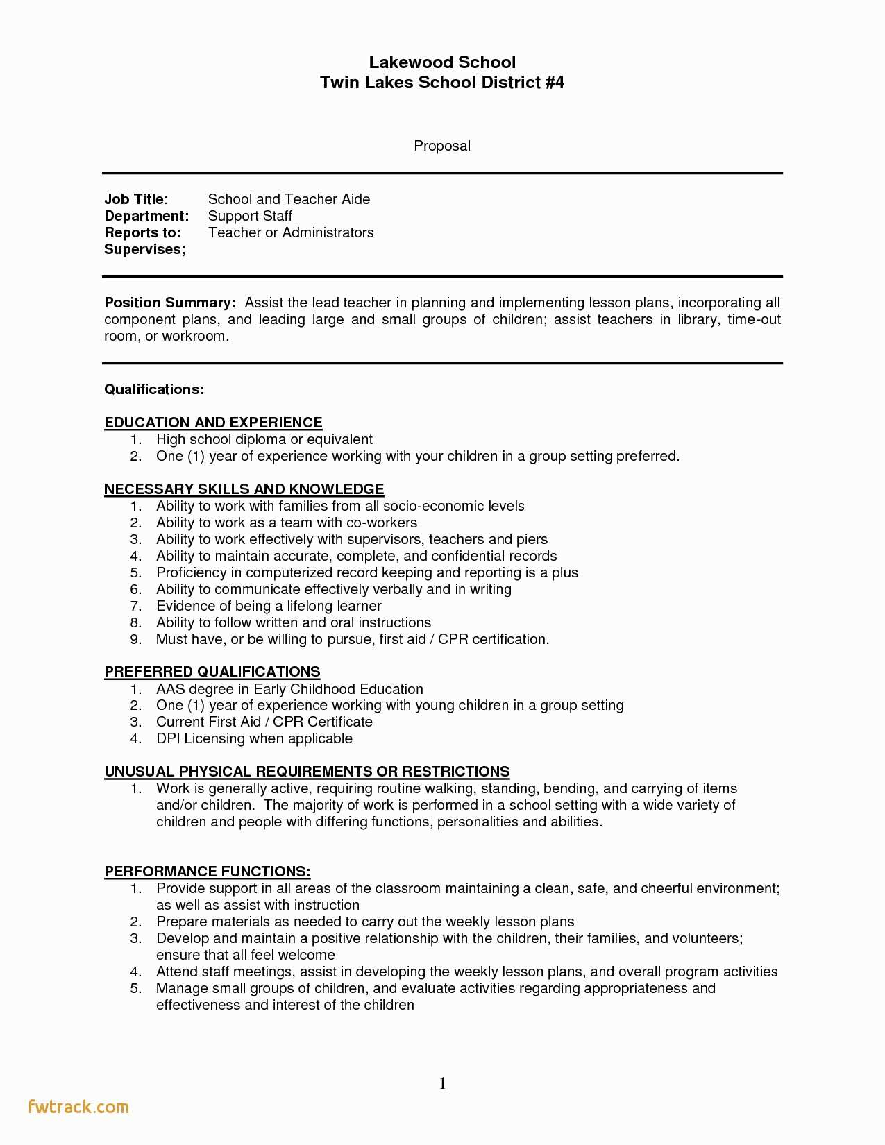 Illustrator Resume Templates - Resume Template for Teachers Fwtrack Fwtrack