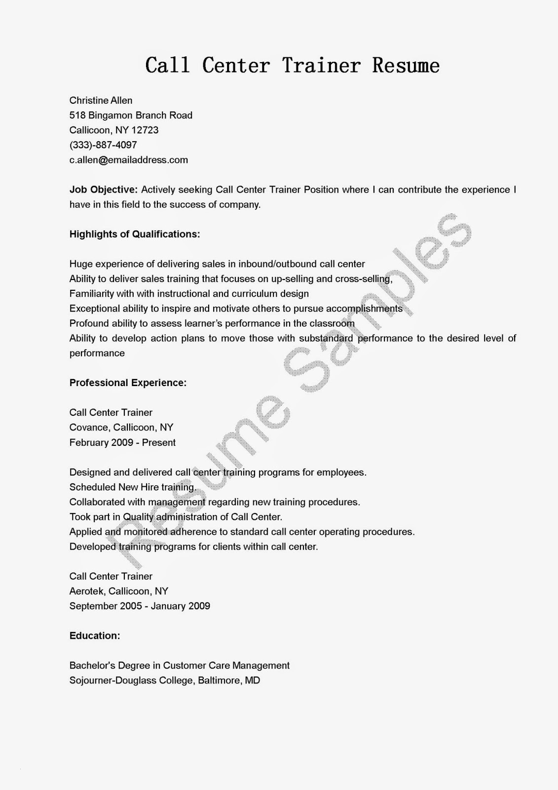 Inbound Call Center Job Description for Resume - Inbound Call Center Job Description for Resume Paragraphrewriter
