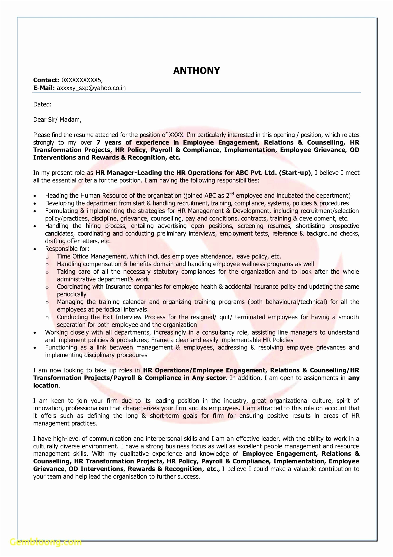 Information Security Analyst Resume - Cover Letter Examples for Financial Analyst New 51 Beautiful Sample