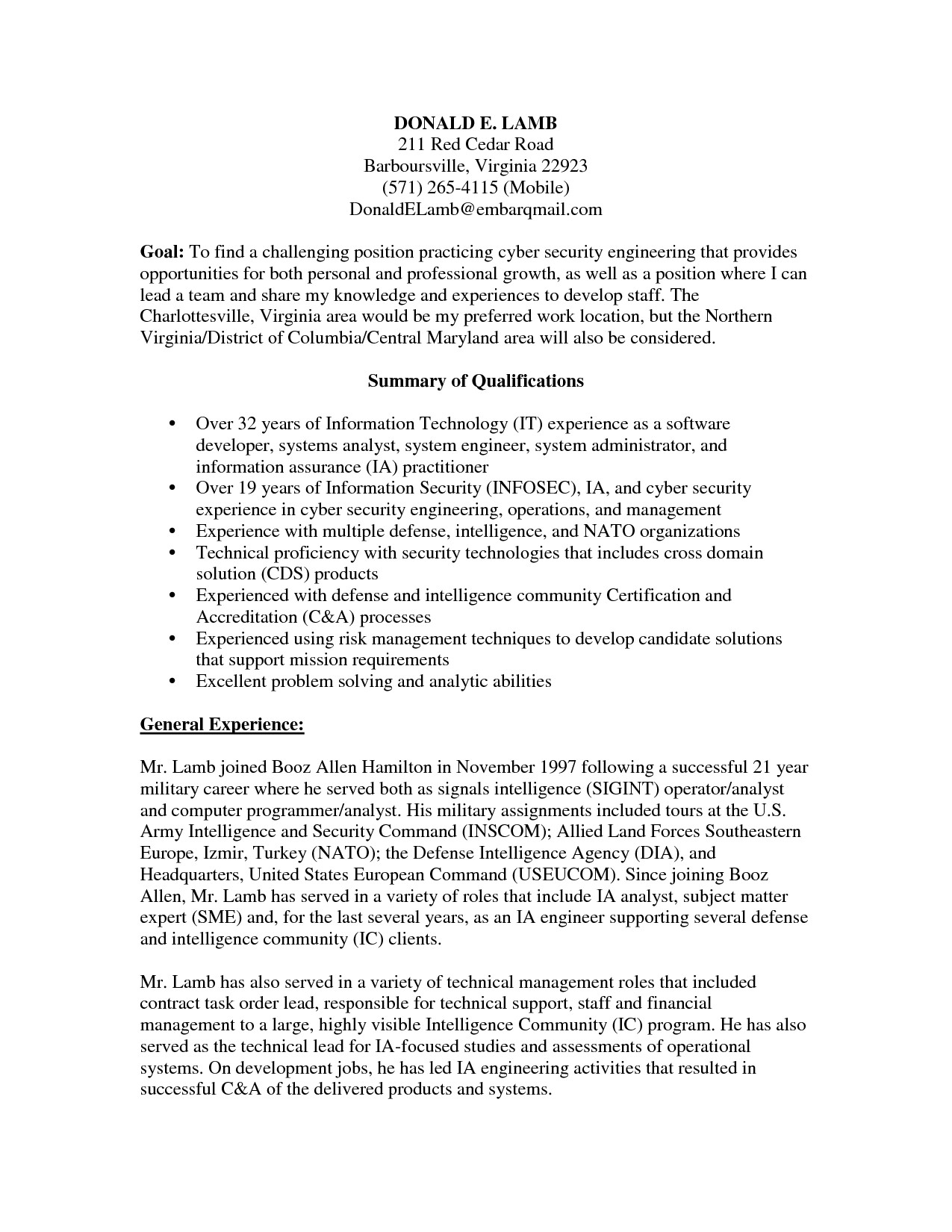 Information Security Analyst Resume - 16 Awesome Information Security Analyst Resume