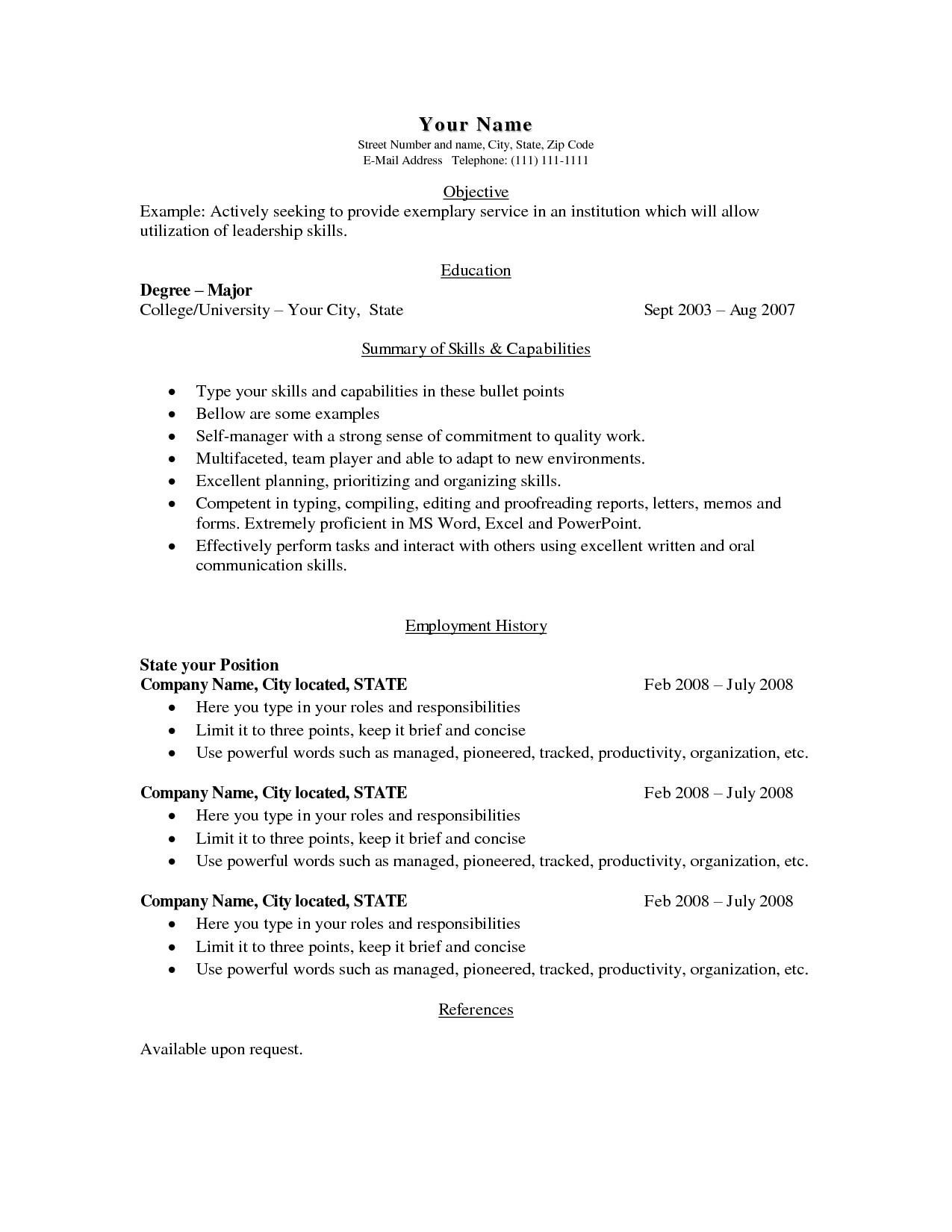 inroads resume template Collection-Download Resume Word Format Fresh Inroads Resume Template Simple It Resume Alan Noscrapleftbehind Co 19-e