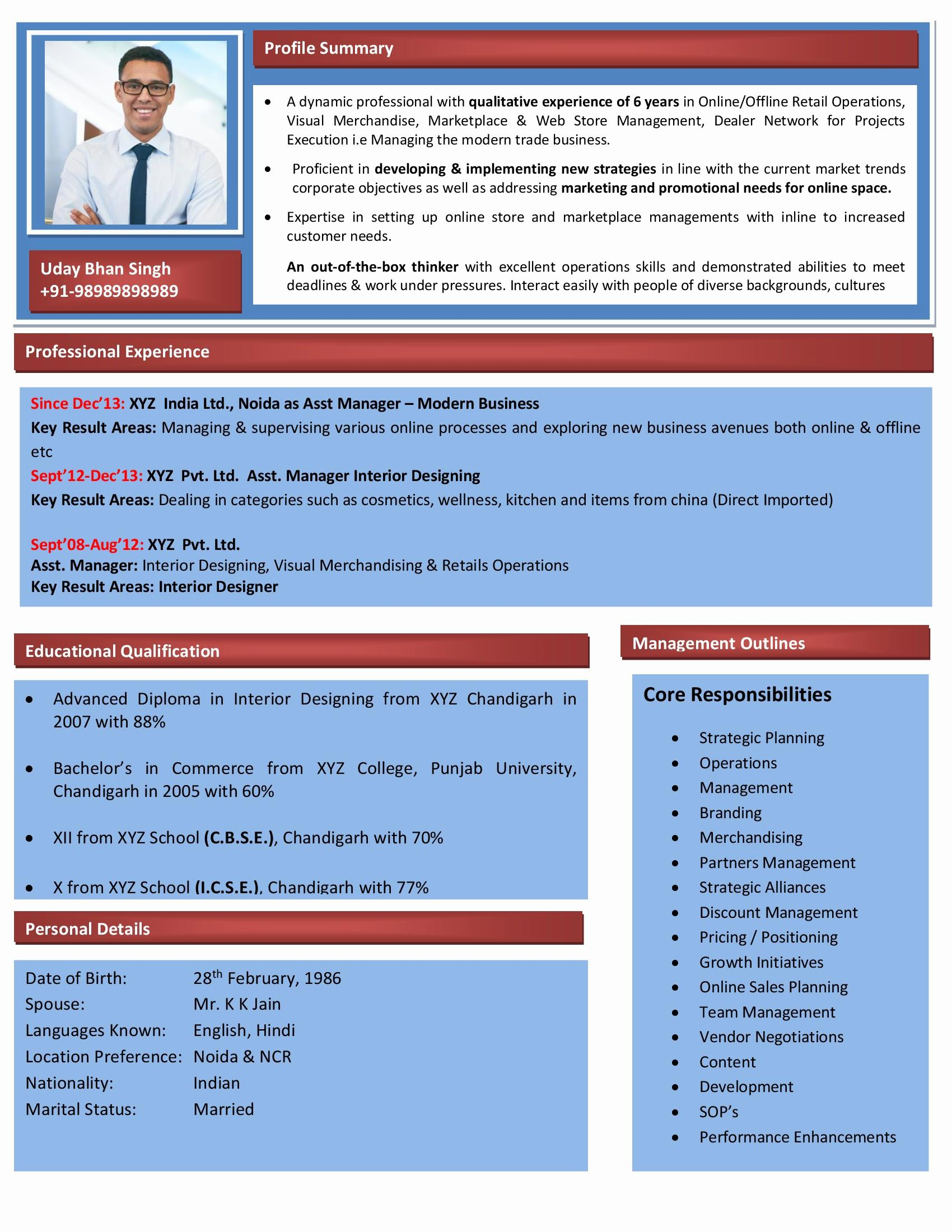 Interior Design Resume Template - Web Designer Resume Word format Inspirational Best Pr Resume