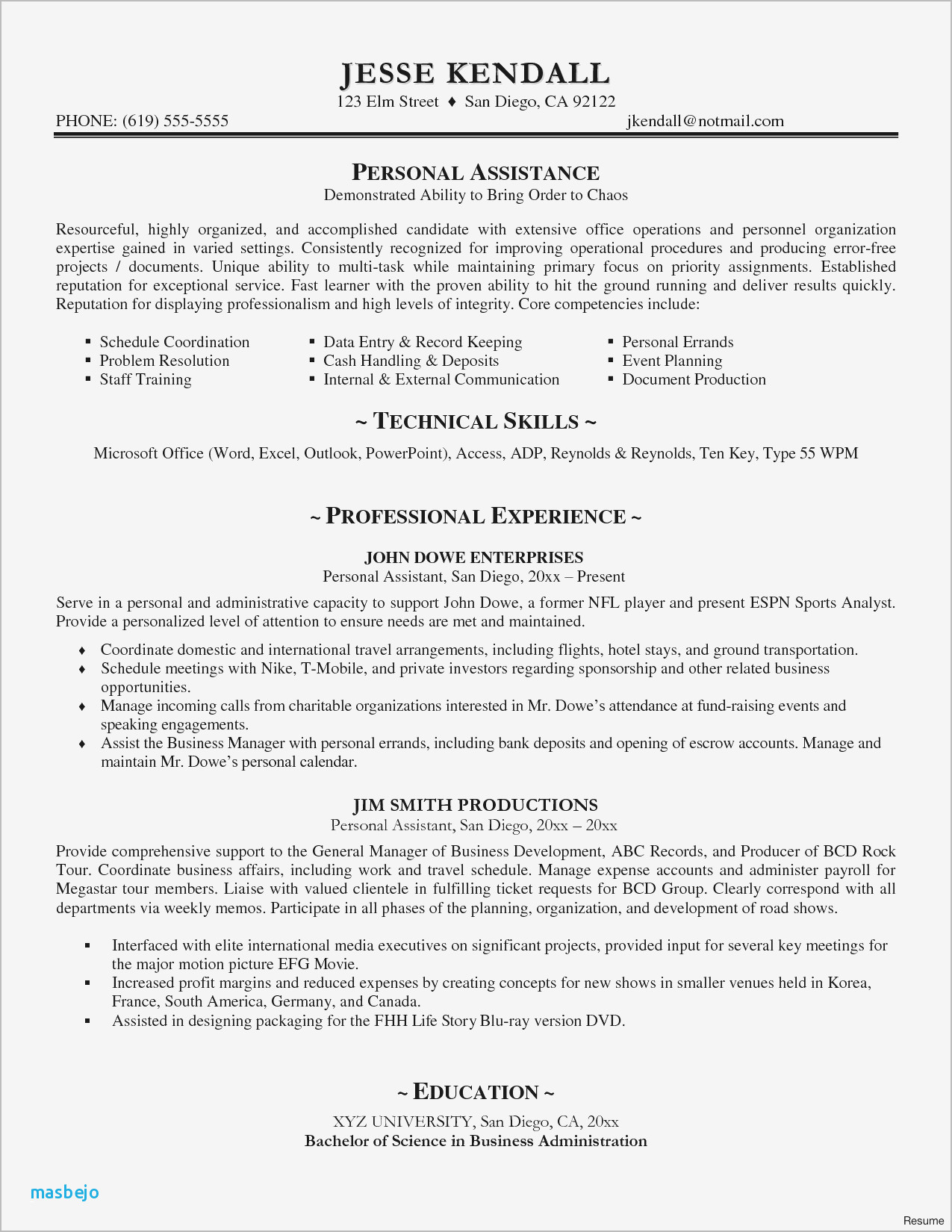Internal Resume Example - Nurse Resume Examples Resume