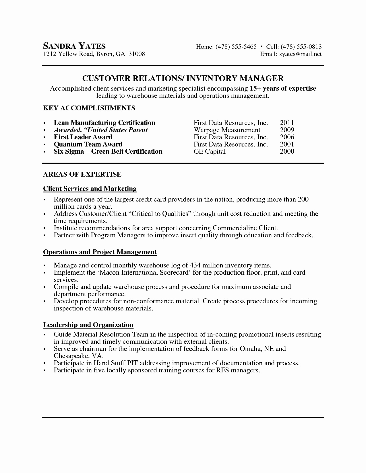 Internal Resume Sample - Internal Promotion Resume Template Beautiful American Resume Sample