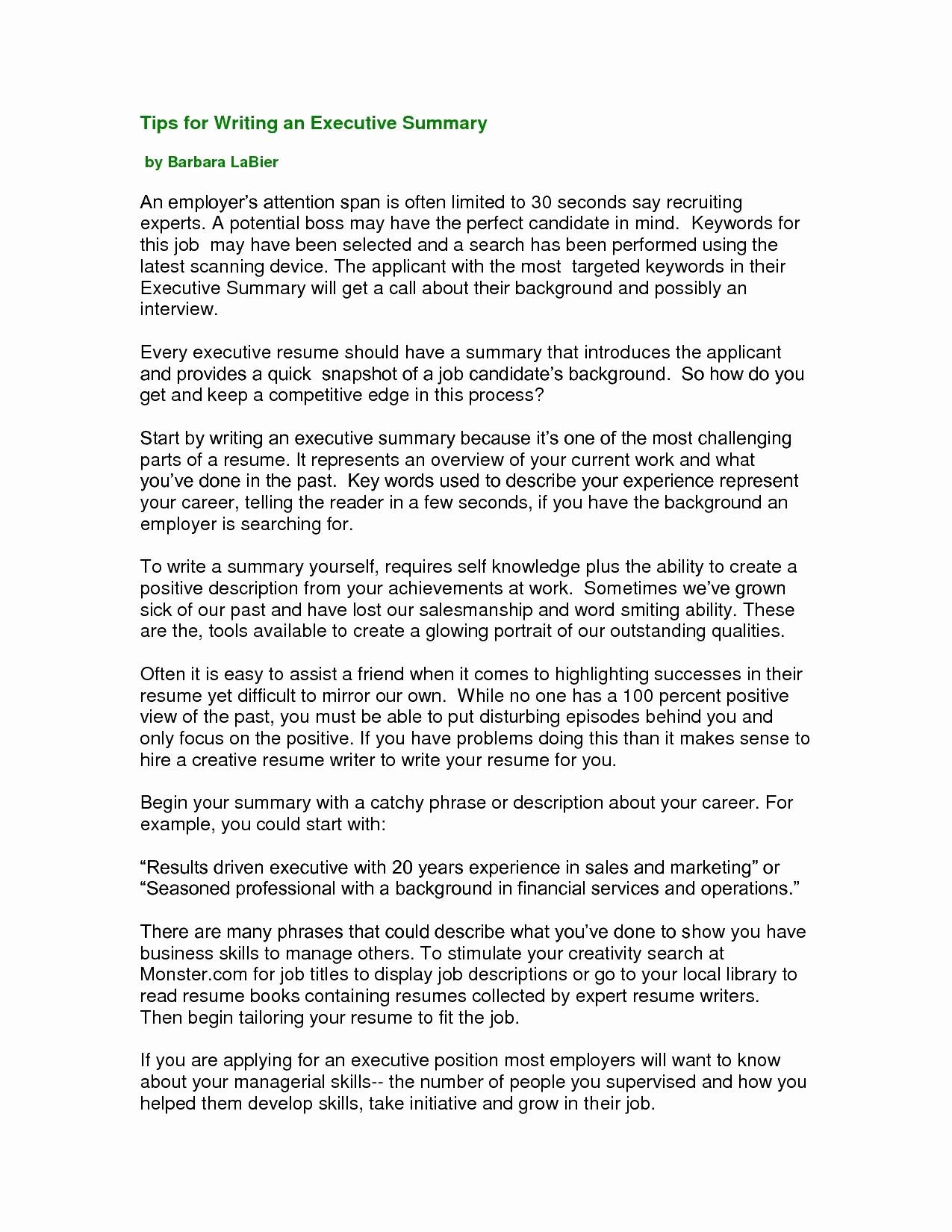 Interview Opening Statement Sample - Resume Library Elegant Unique Examples Resumes Ecologist Resume 0d