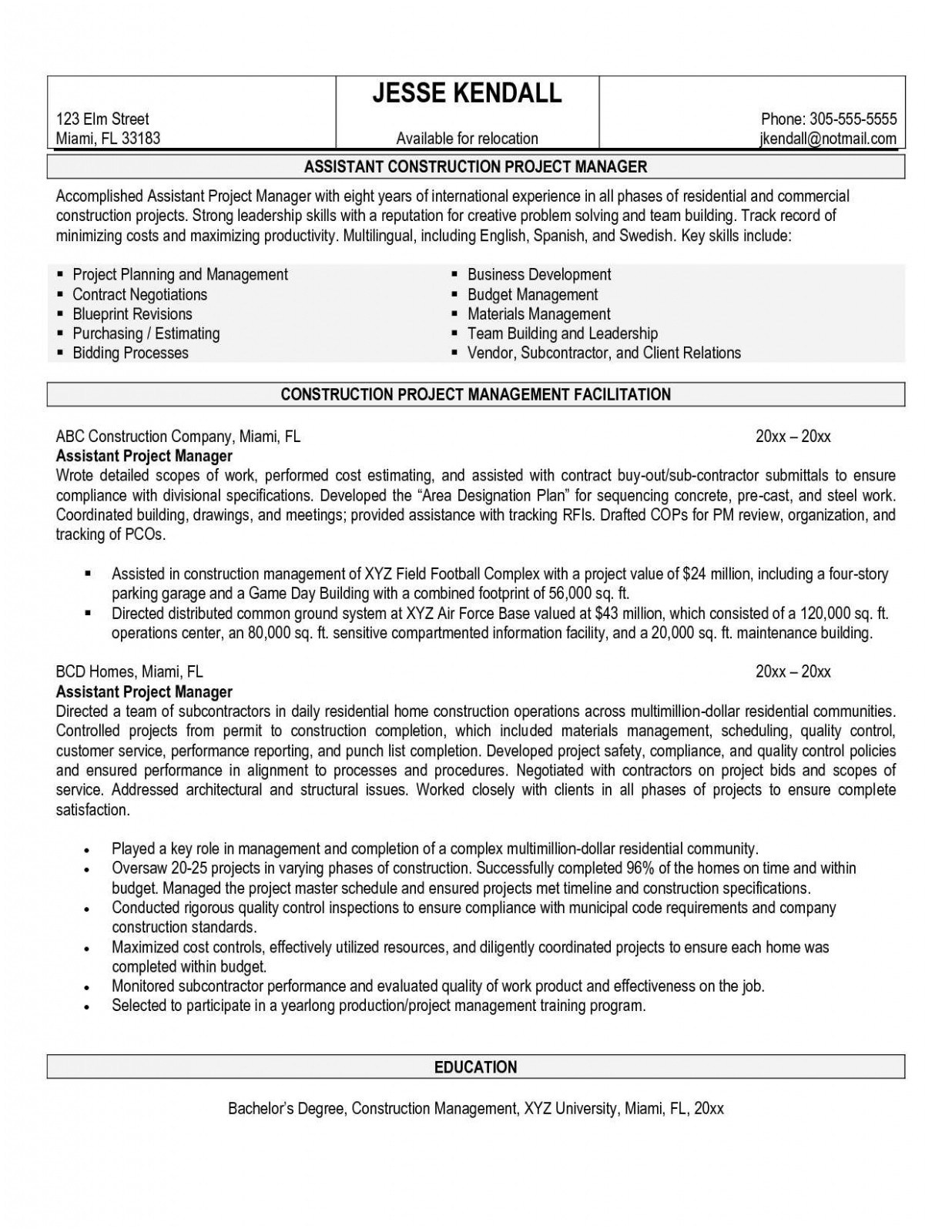 It Manager Resume Sample - Program Manager Resume Sample