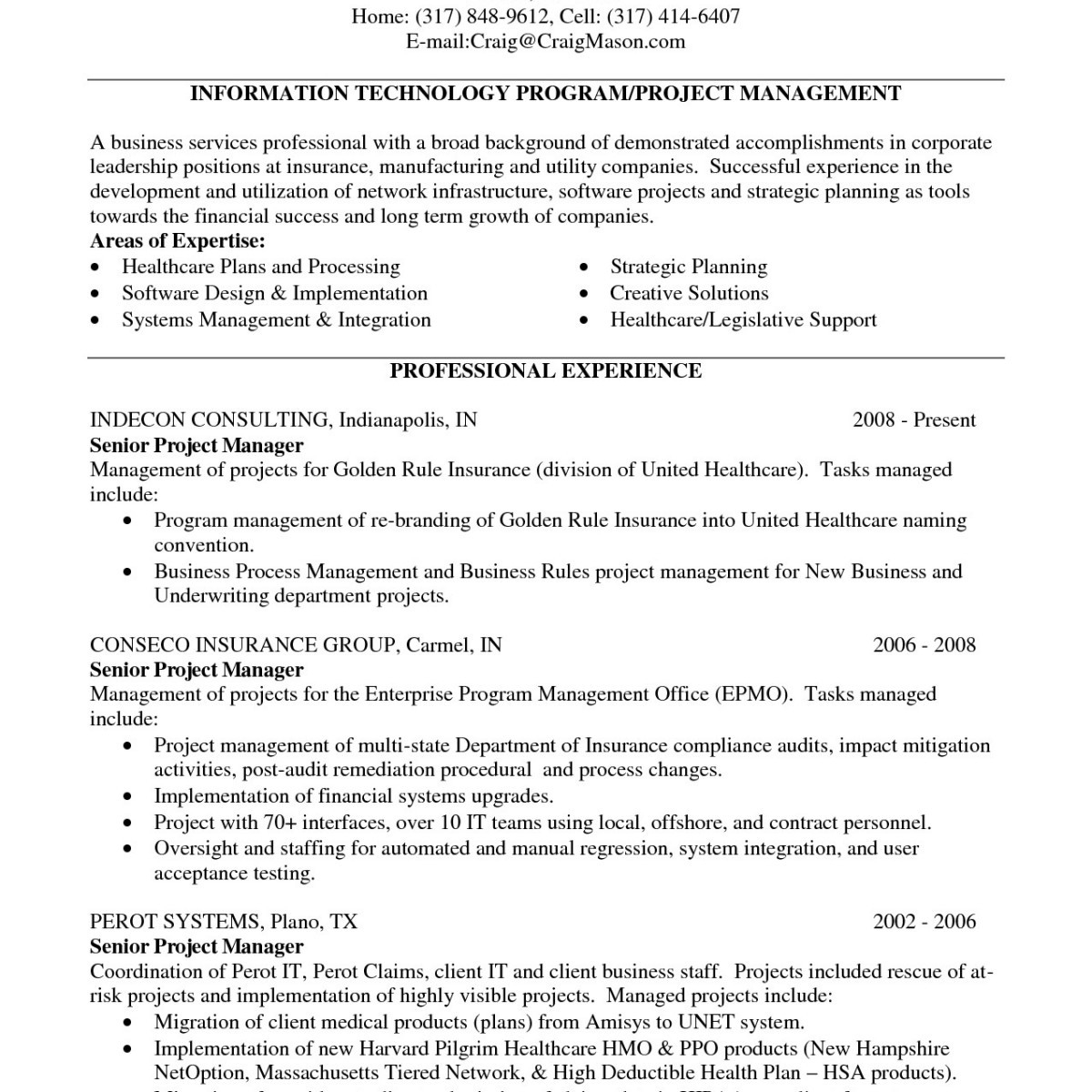 It Project Manager Resume - Project Coordinator Resume Elegant Resume Manager New software