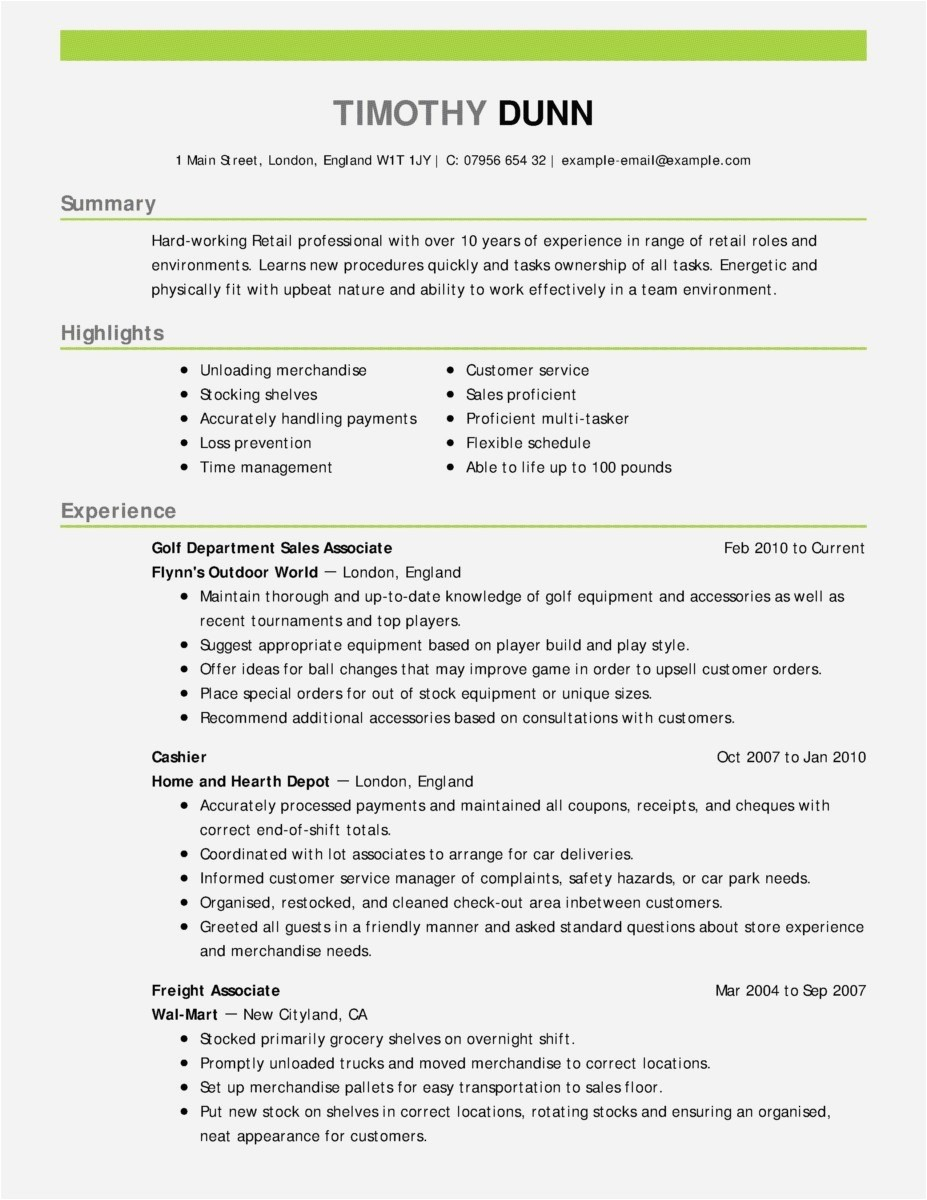 It Resume Examples Entry Level - Example Job Resume New Free Resume assistance 2018 Fresh Entry
