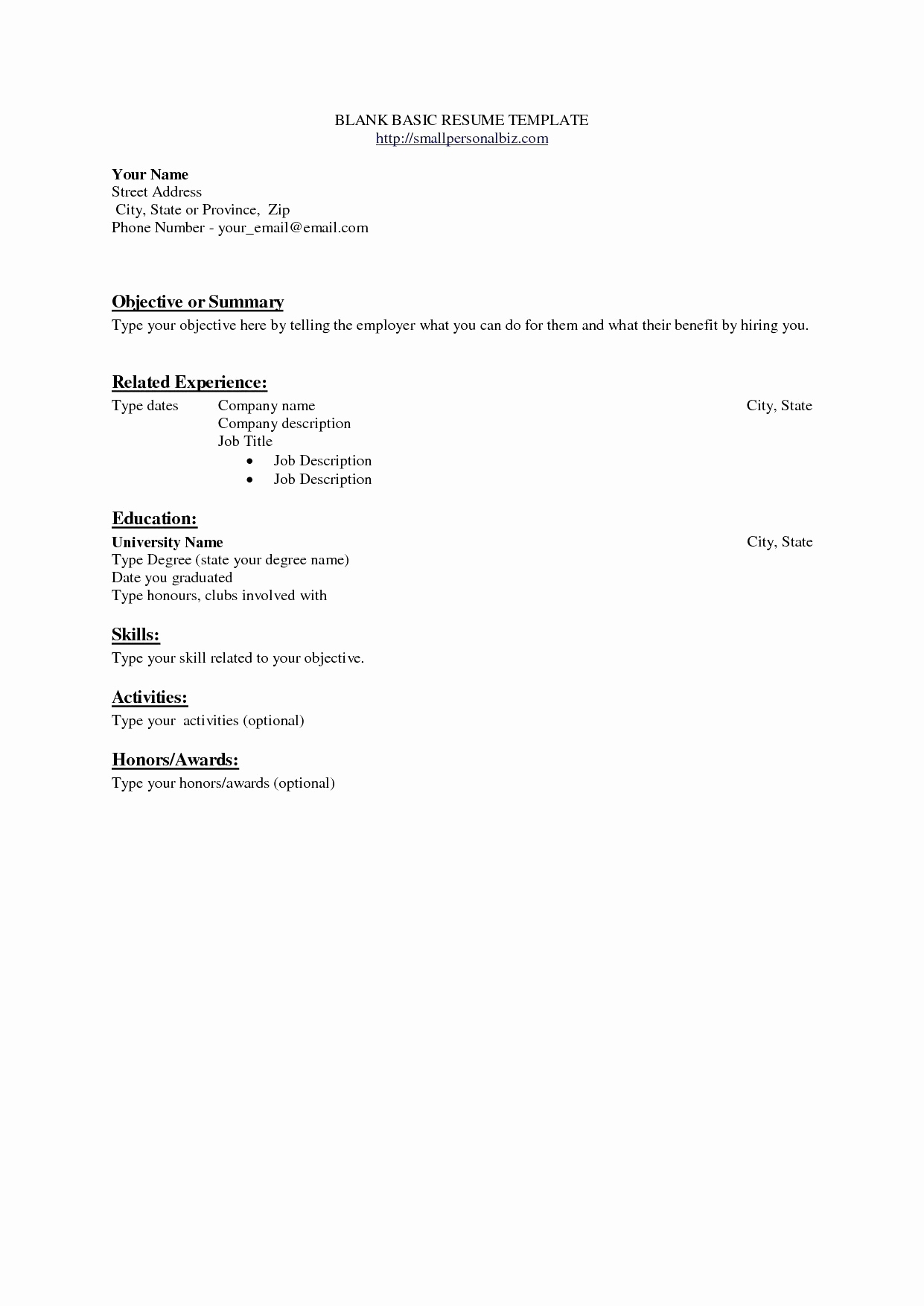 Job Resume Template - Interview Fer Email Beautiful Example Job Resume Fresh Luxury