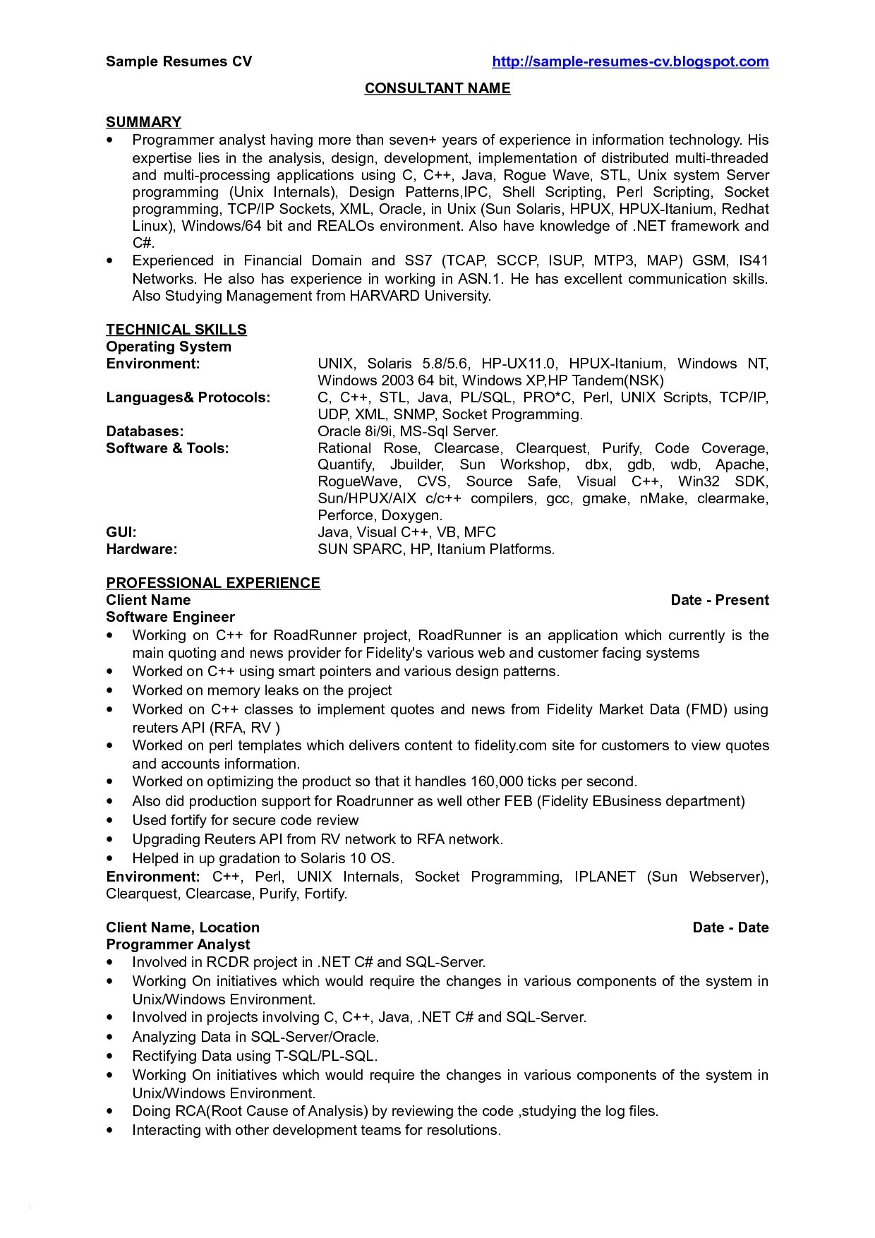 Junior Java Developer Resume - 21 New Junior Java Developer Resume