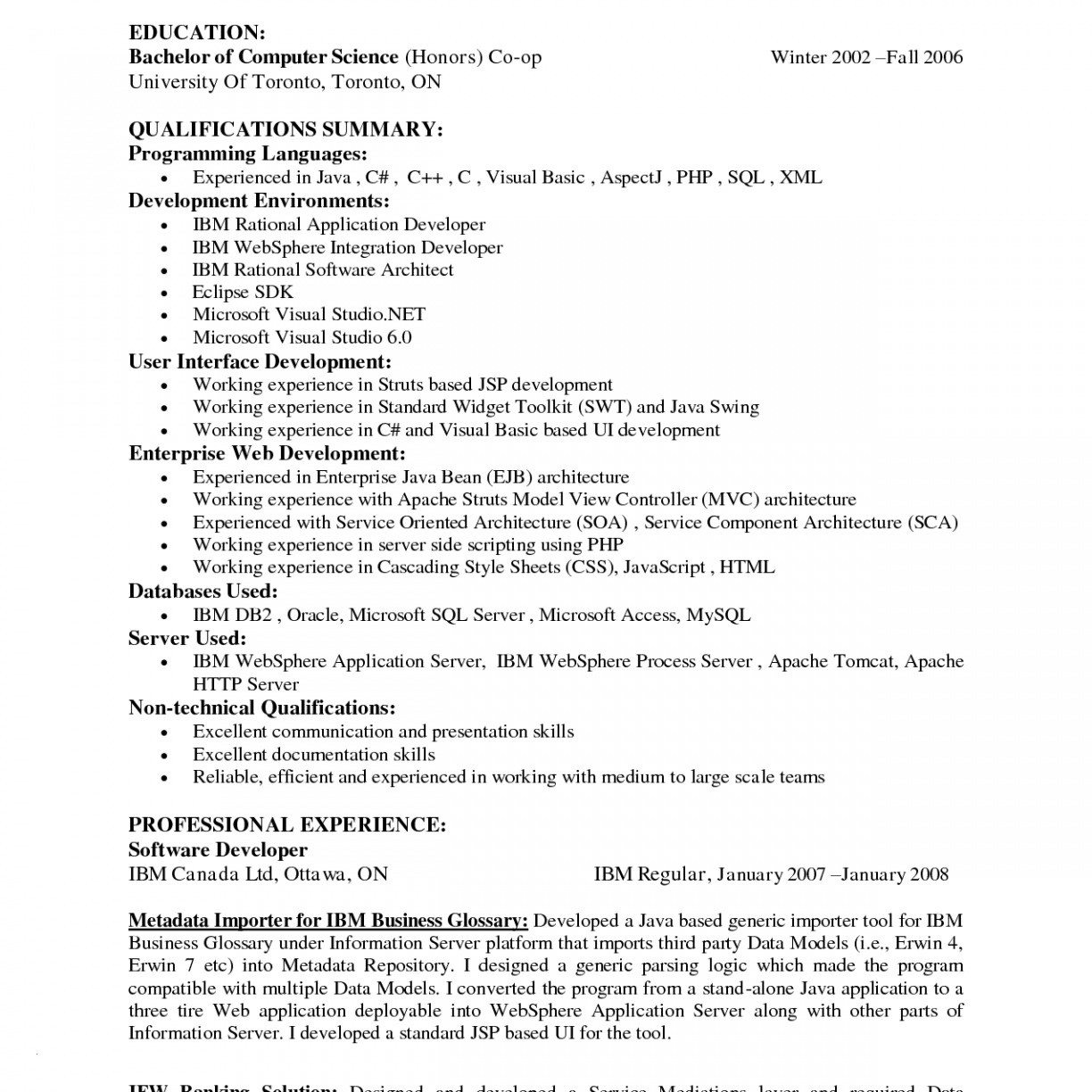 Junior software Developer Resume - Junior software Developer Resume Best software Engineer Resume