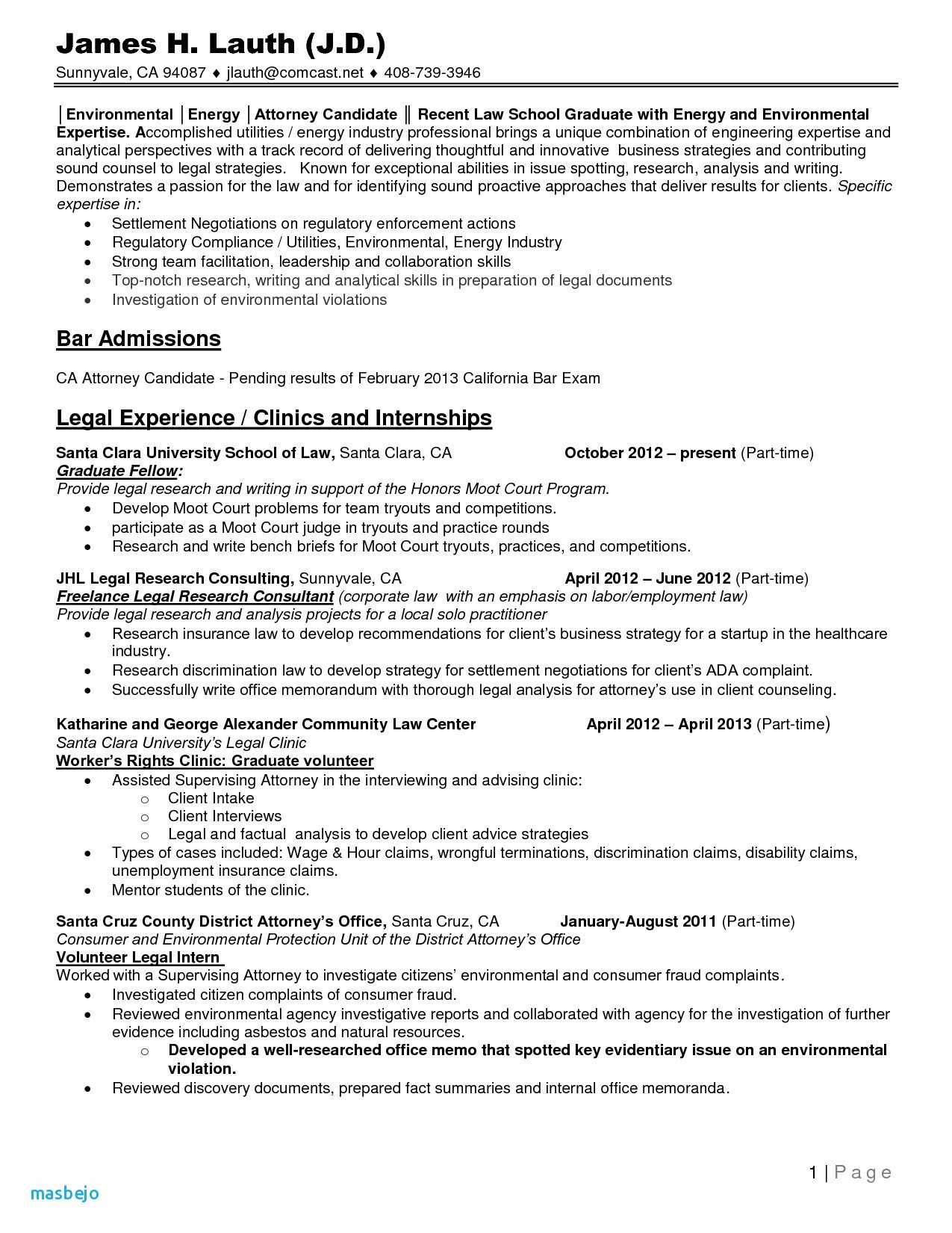 Law School Resume Template - Law Resume Best Legal Resume Examples Law Student Resume Template