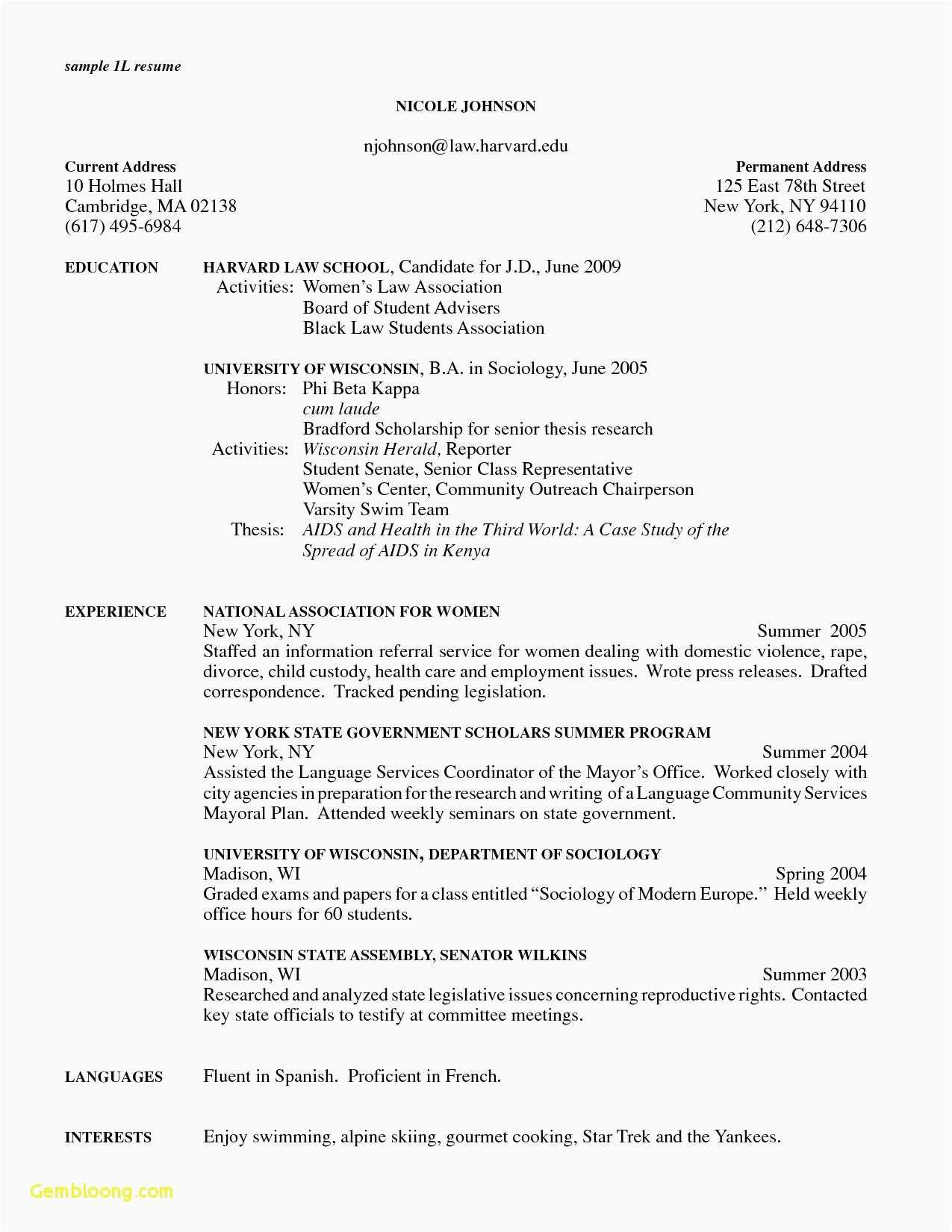 Law School Resumes - Cancellation Policy Template 2018 Legal Resume Template Best Law