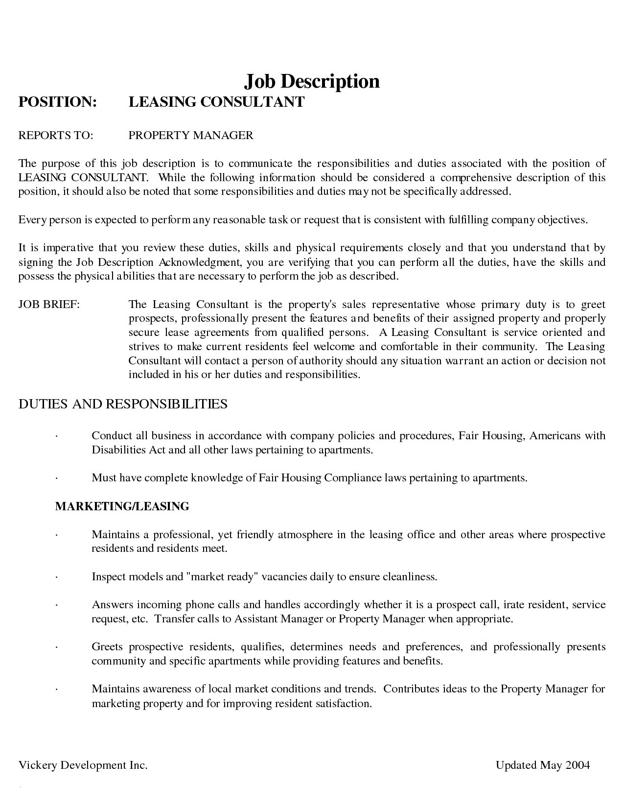 Leasing Consultant Resume - Apartment Leasing Consultant Resume Popular Leasing Consultant