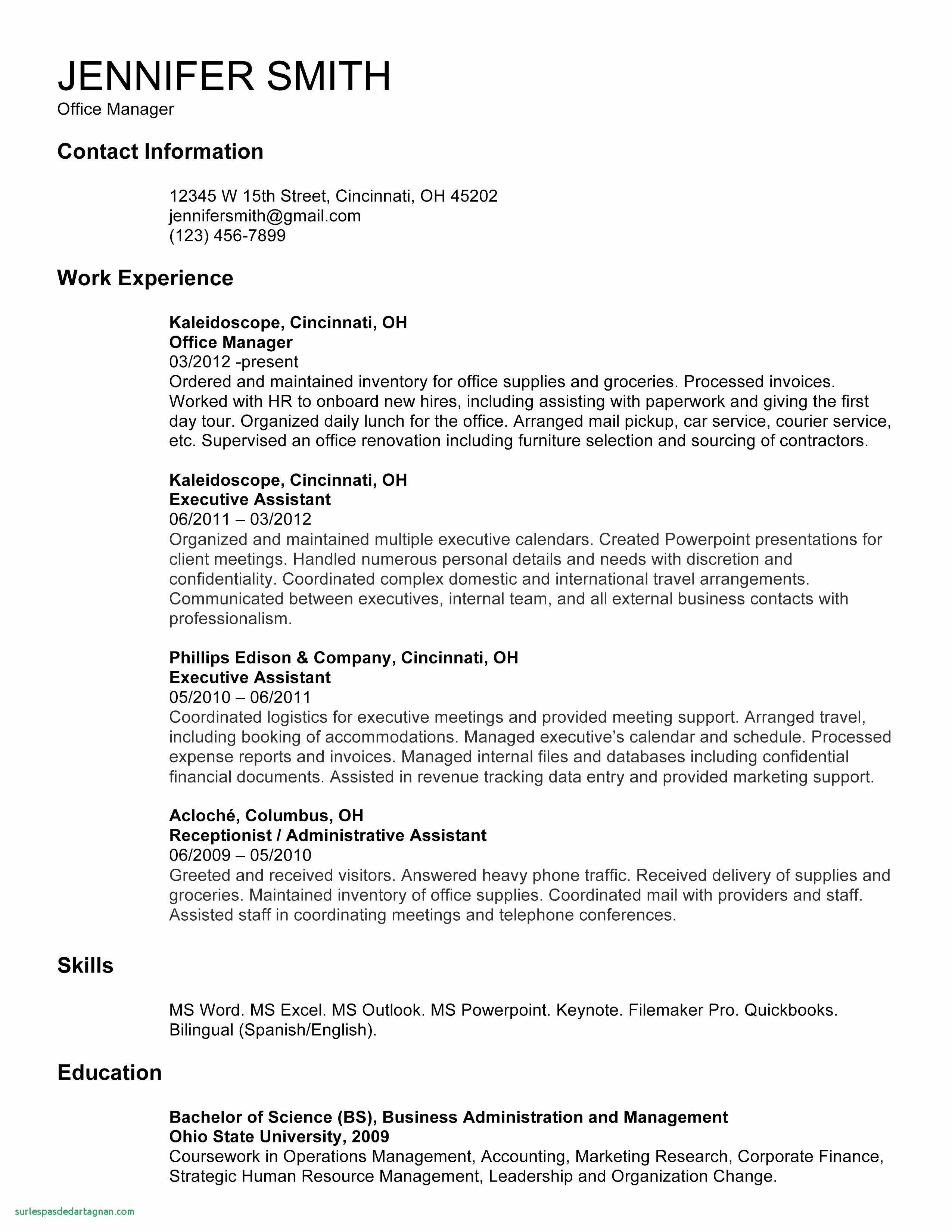 Leeds School Of Business Resume Template - Google Resume Template Inspirational Best Resume Template for