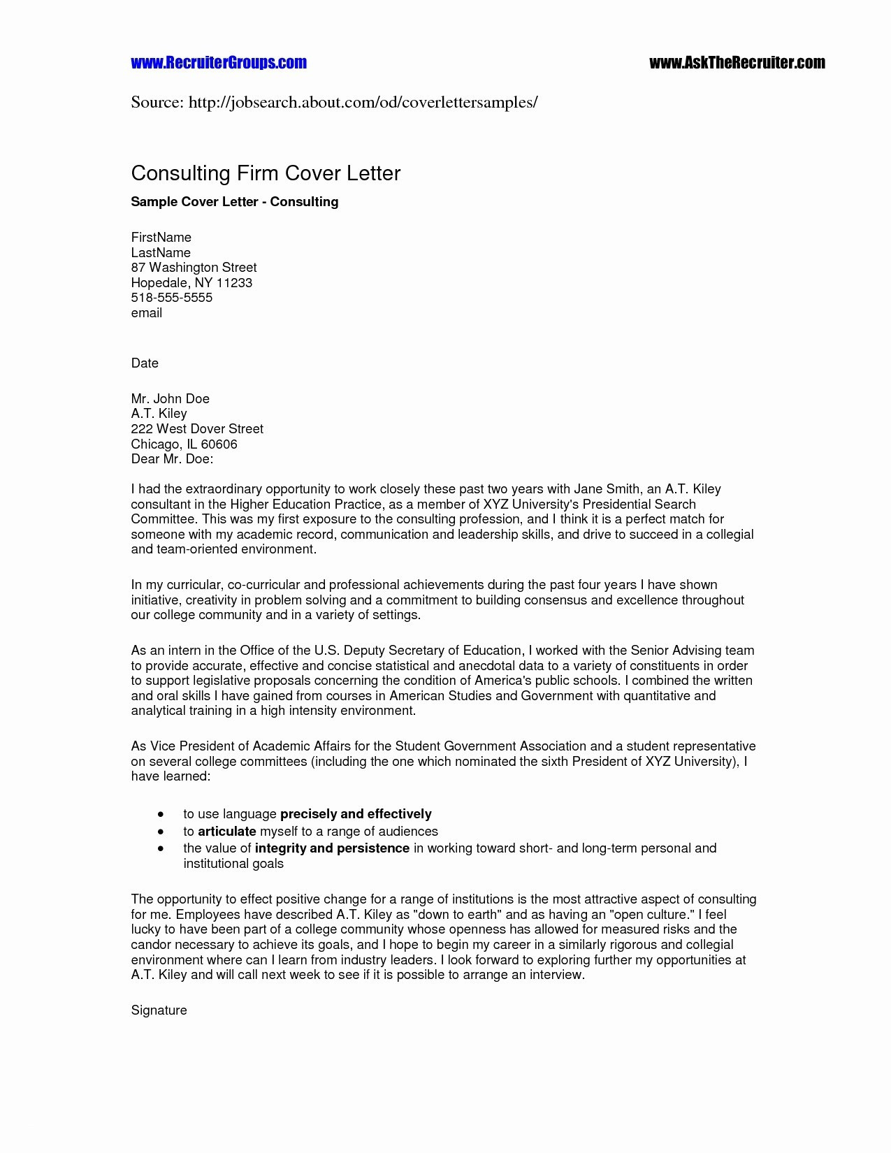 Letter Of Recommendation Resume Template - Resume Template for Letter Re Mendation Cv Templates College