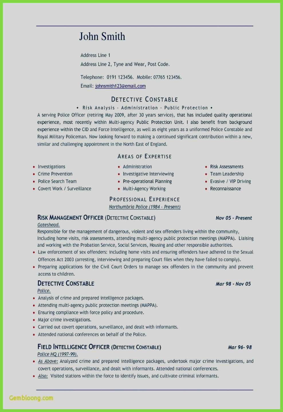 Libreoffice Resume Template - Federal Job Resume Template 13 Advanced Awesome Resume Template