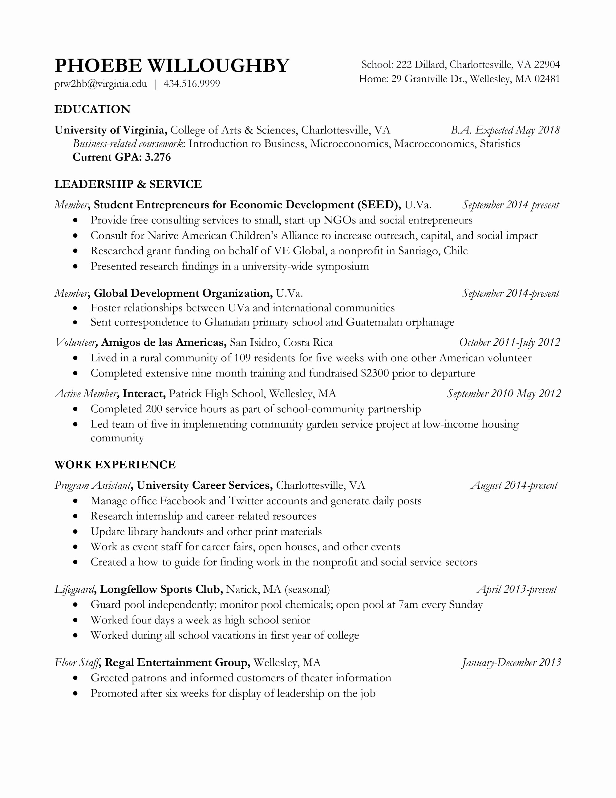 Lifeguard Responsibilities for Resume - 15 Resume Introduction Examples