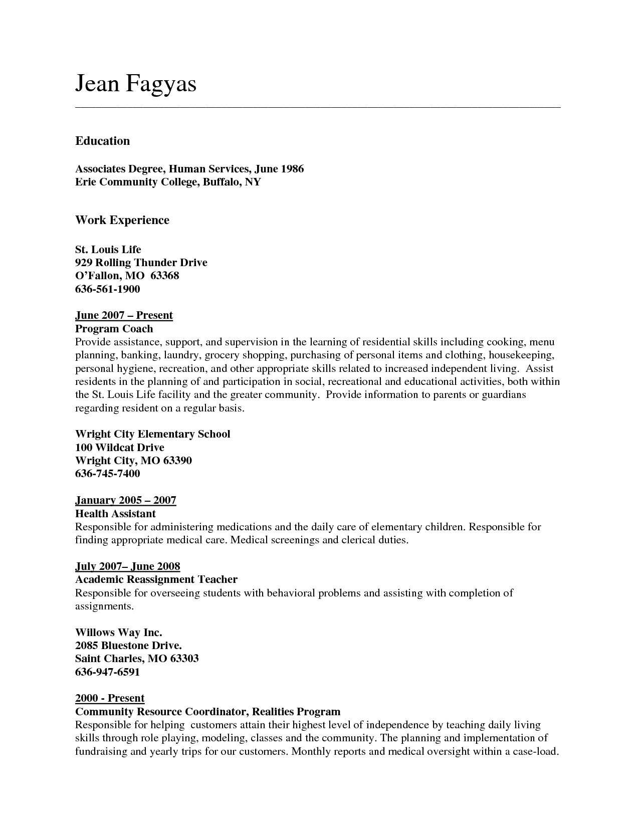 List associate Degree On Resume - How to List associate Degree Resume Nmdnconference