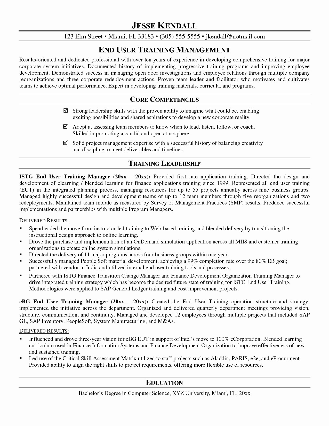List Of Core Competencies Resume Examples - 25 Core Petencies Resume Examples
