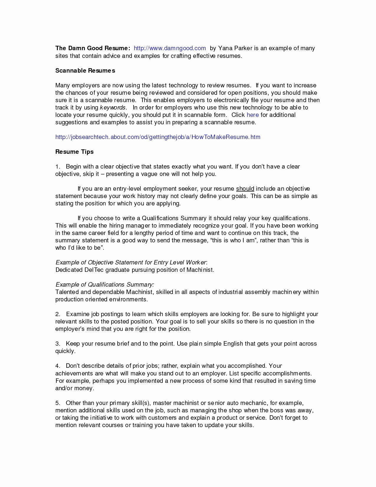 Machinist Resumes - Interest Section Resume Examples Fresh Sample Hobbies and