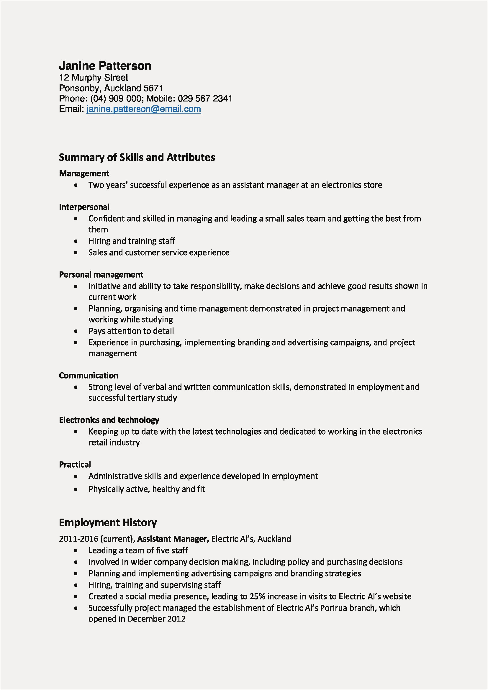 Management Skills Examples for Resume - Skill Examples for Resume New New Skills for A Resume Fishing Resume