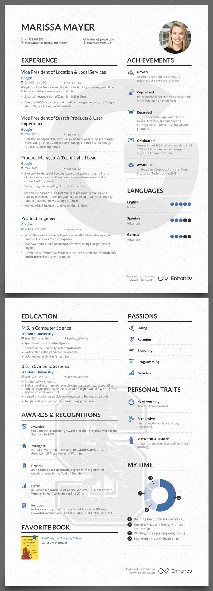 Marissa Mayer Resume Template Word - Marissa Mayer Resume Best Strong Resume Words Fresh Great