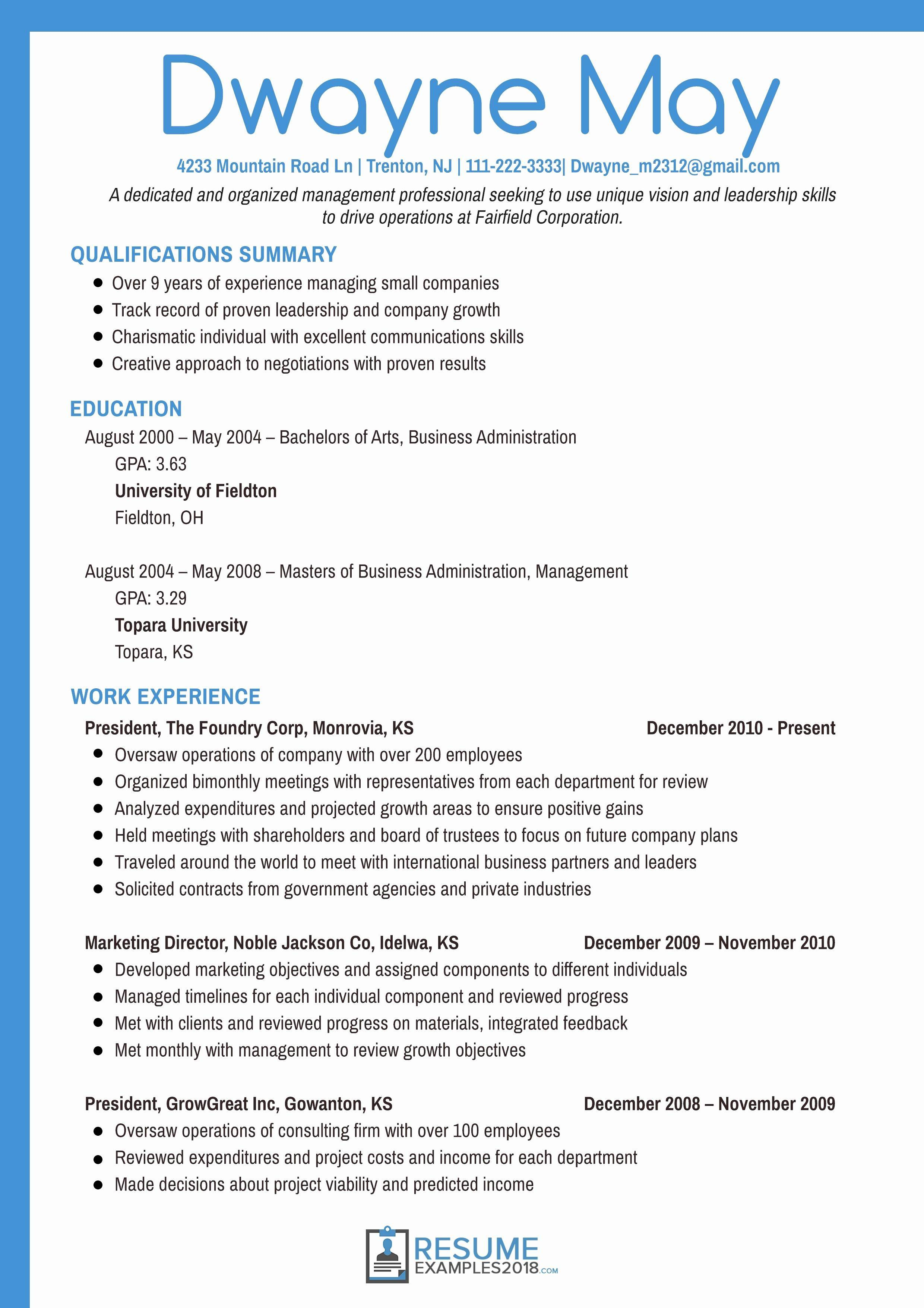 Marketing Manager Resume Template - Fresh Co Marketing Agreement Template