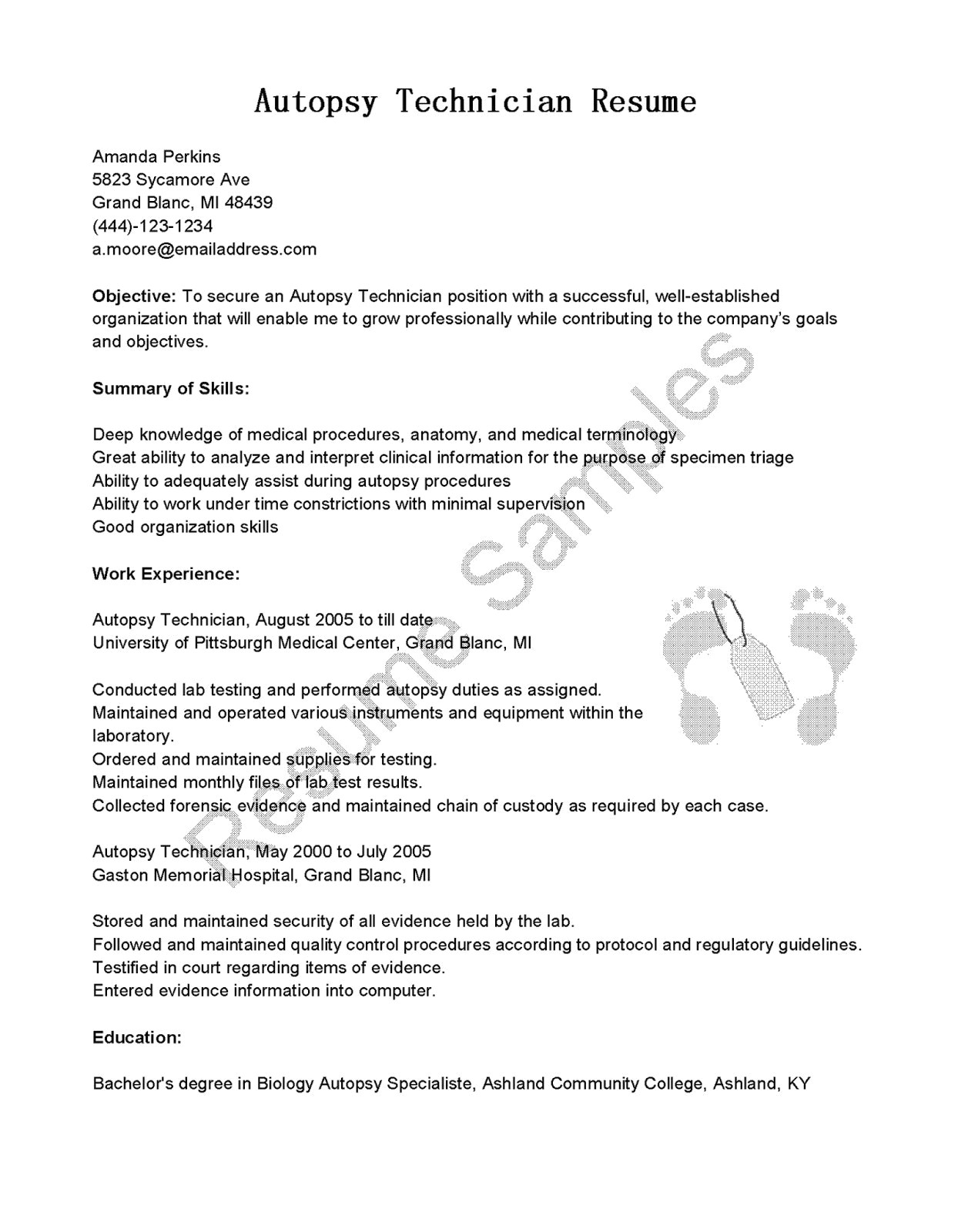 Massage Resume Template - 46 New Best Free Resume Templates