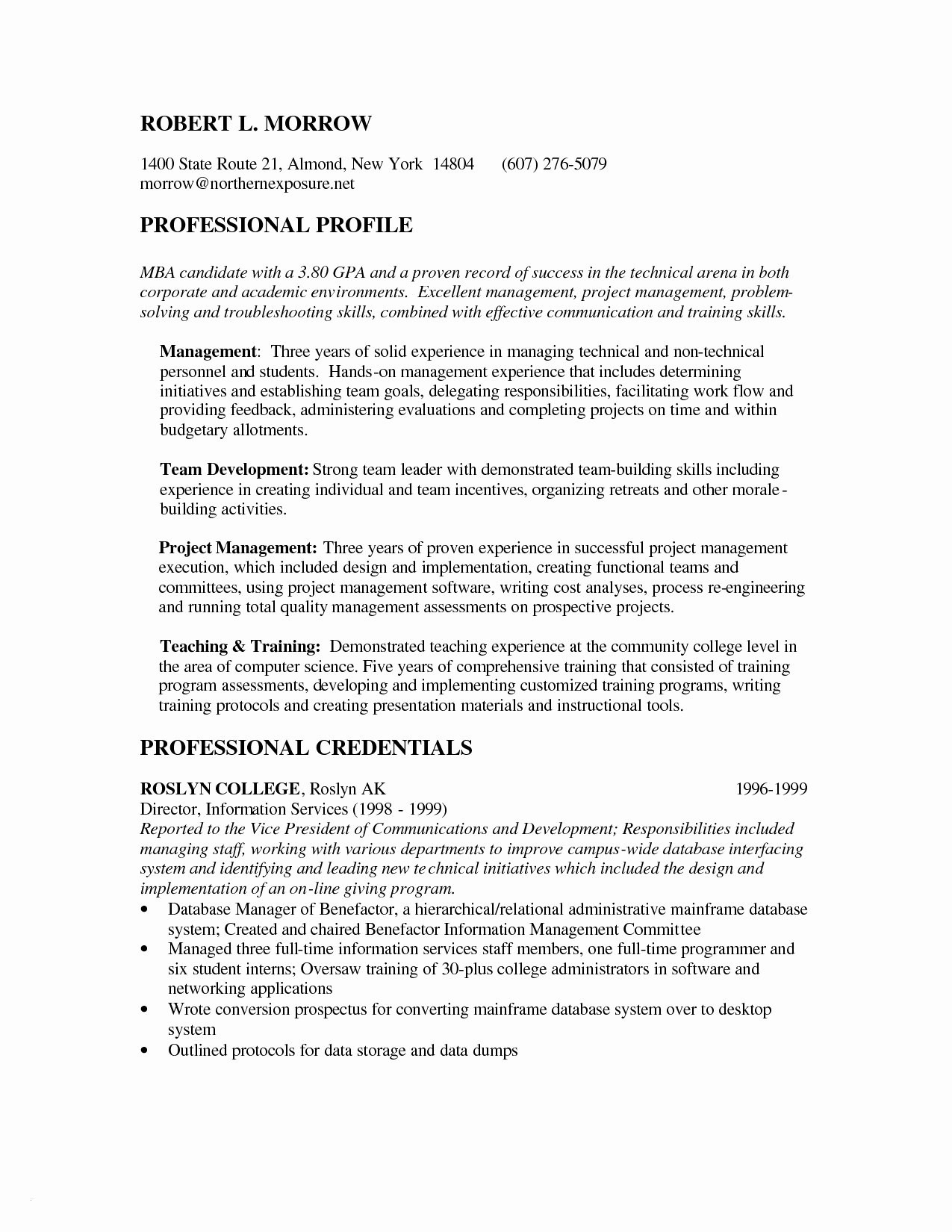 Mba Application Resume Template - Mba Application Resume Template Best Mba Resume Template