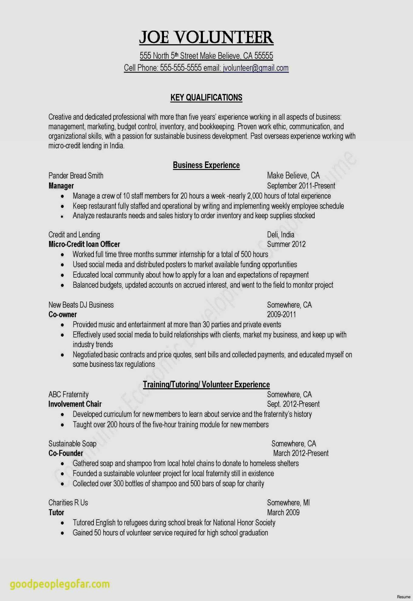 Mba Resume Template - 20 Fresh Resume Template Professional Free Resume Templates