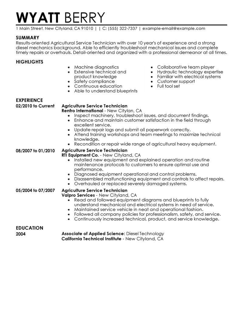 Mechanic Resume Sample - Help Desk Technician Resume Beautiful Mechanic Resume Example Lovely