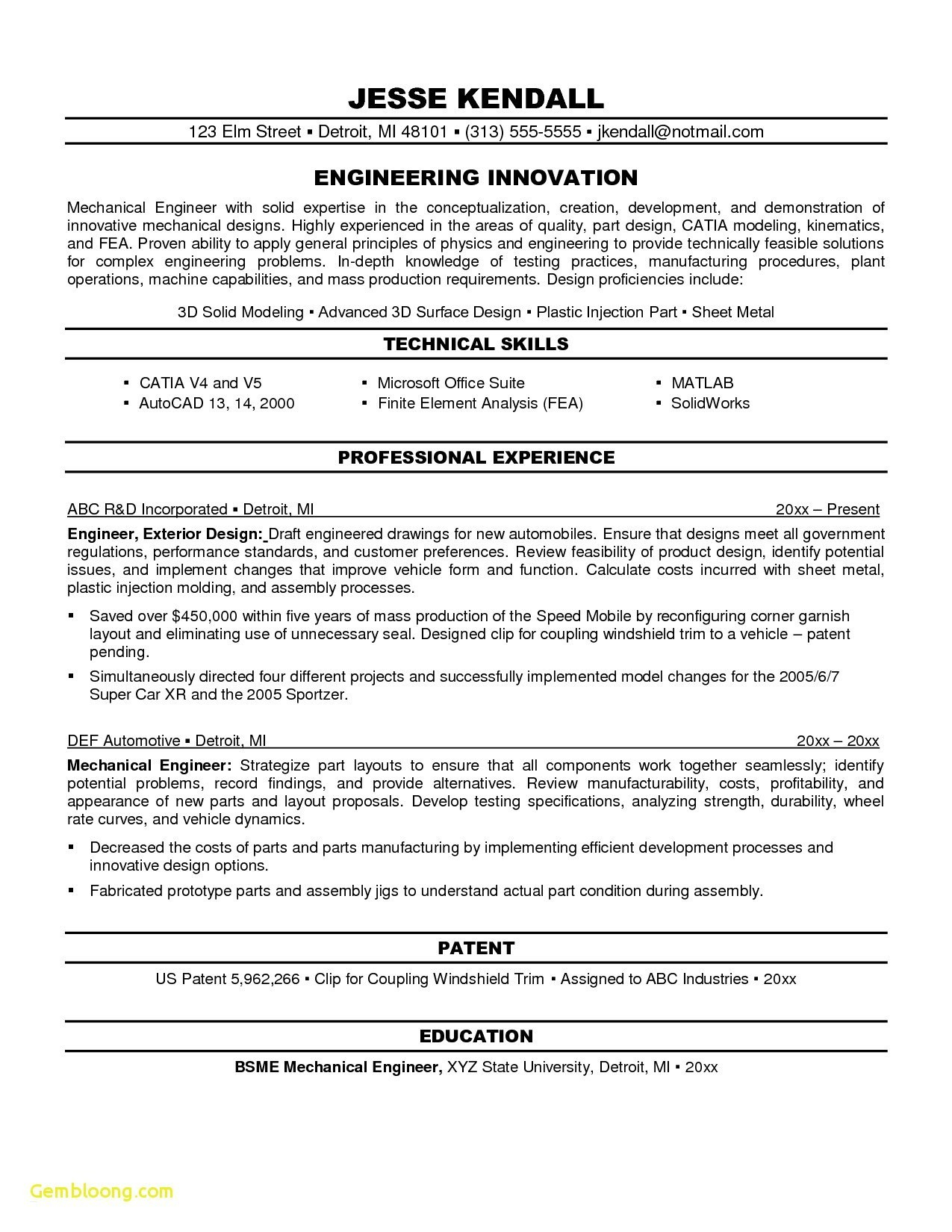 Mechanical Engineering Resume Templates - Mechanical Engineer Resume Sample Beautiful Resume 3d Printing Https