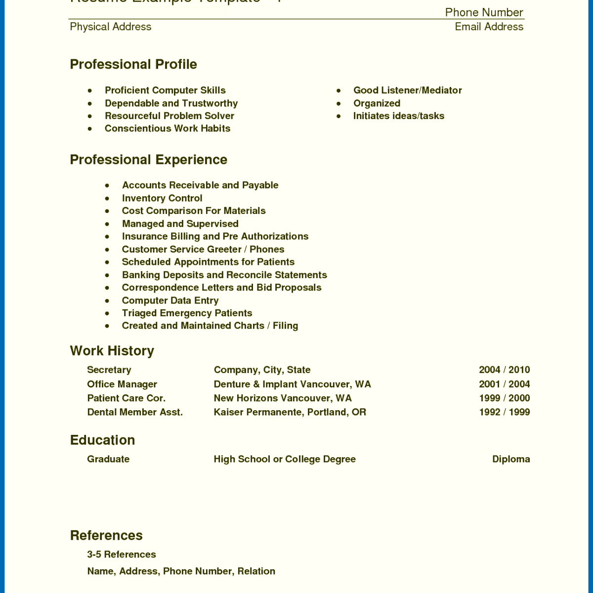 11 medical billing resume example collection