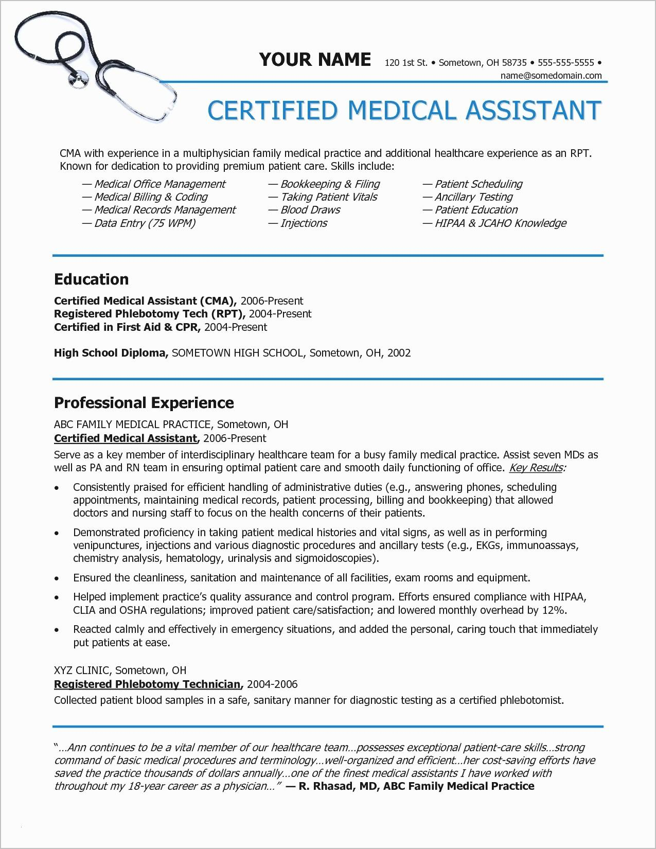 Medical Coder Resume Example - Medical Coding Resume Samples Unique Charming Ideas Medical Coder