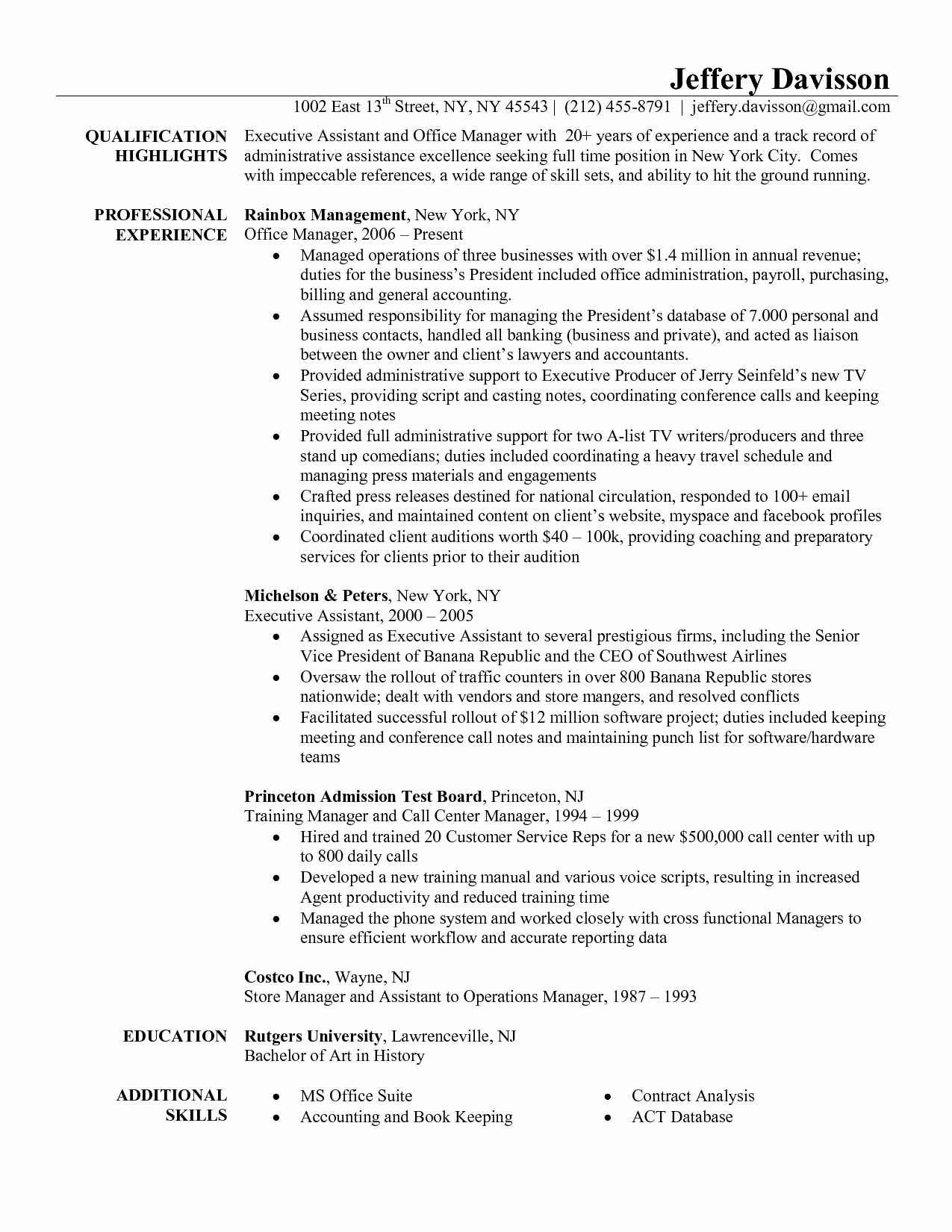 Medical Office Manager Resume Example - Medical Fice Manager Resume Samples Valid Resume for Fice Manager