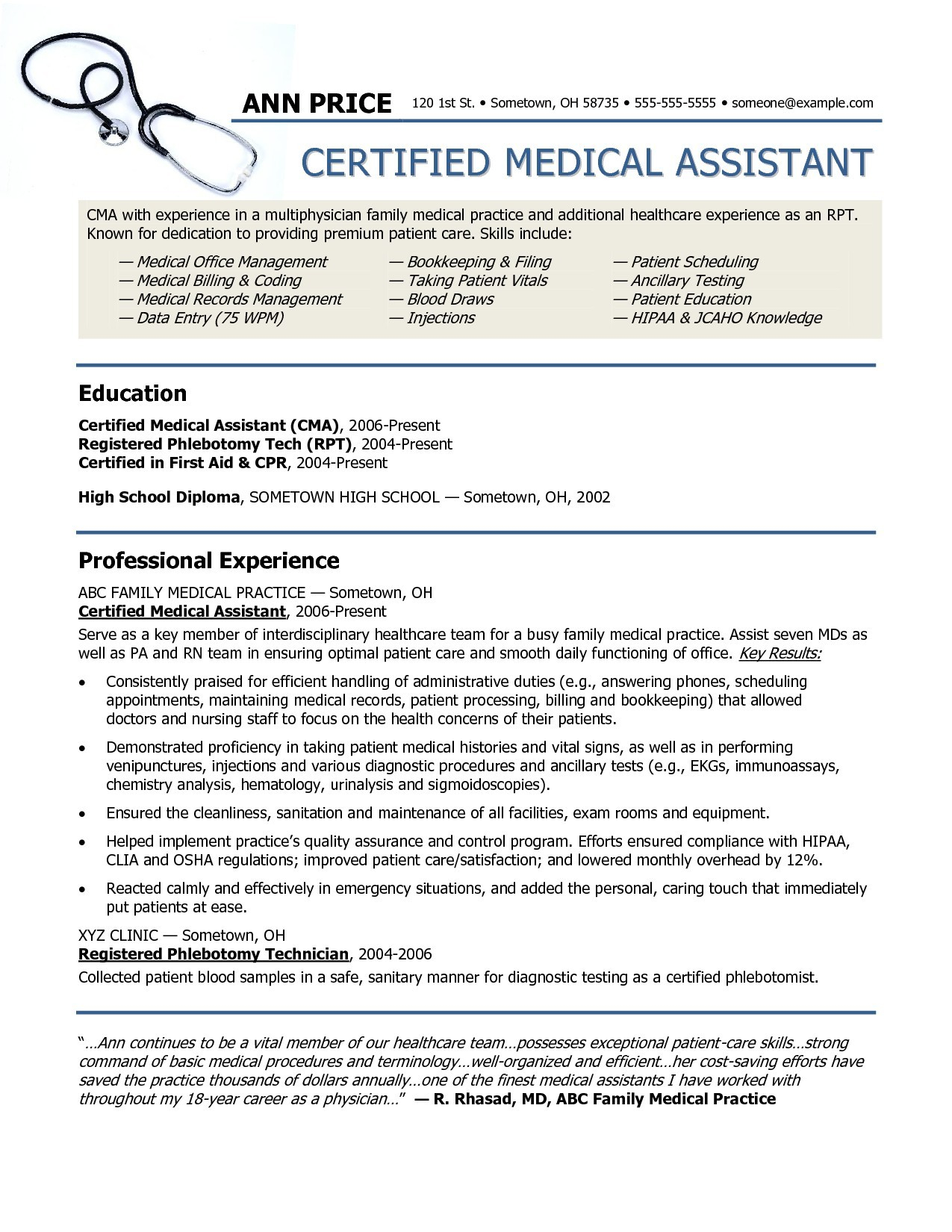 Medical Office Resume Template - Lpn Resume Template Lovely Unique Sample College Application Resume