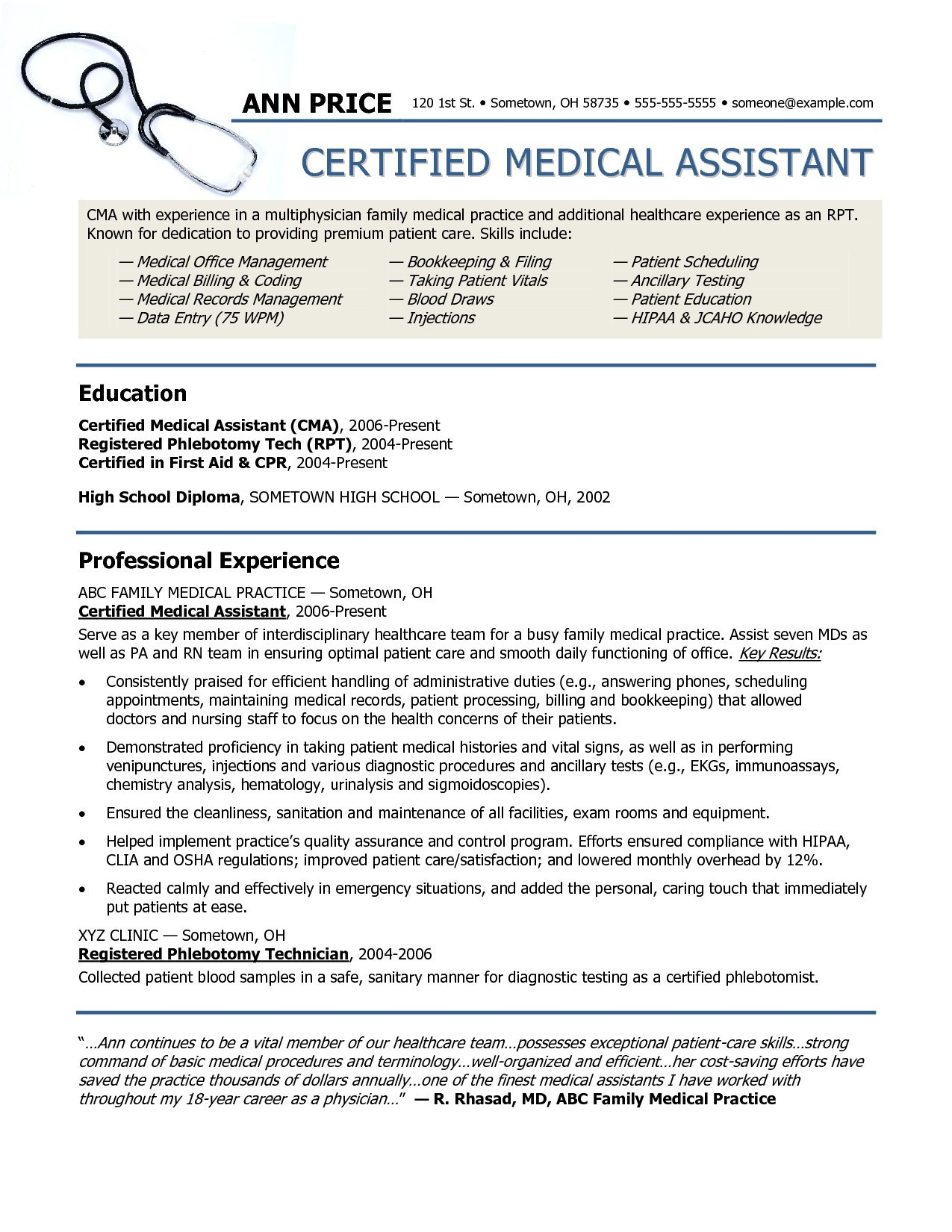 Medical School Application Resume - Medical Release Letter Template Examples