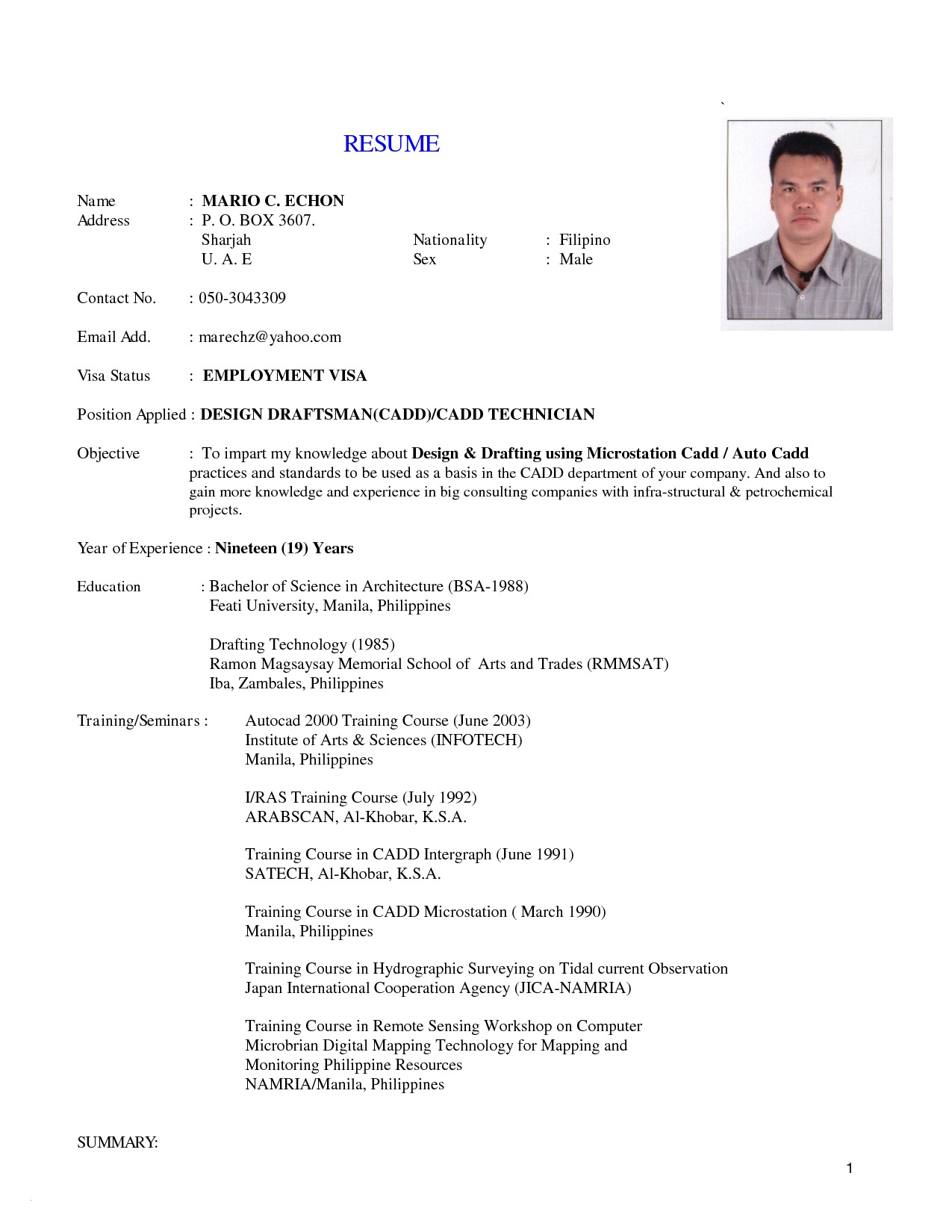 Medical Technologist Resume Template - Download Best Medical Technologist Resume
