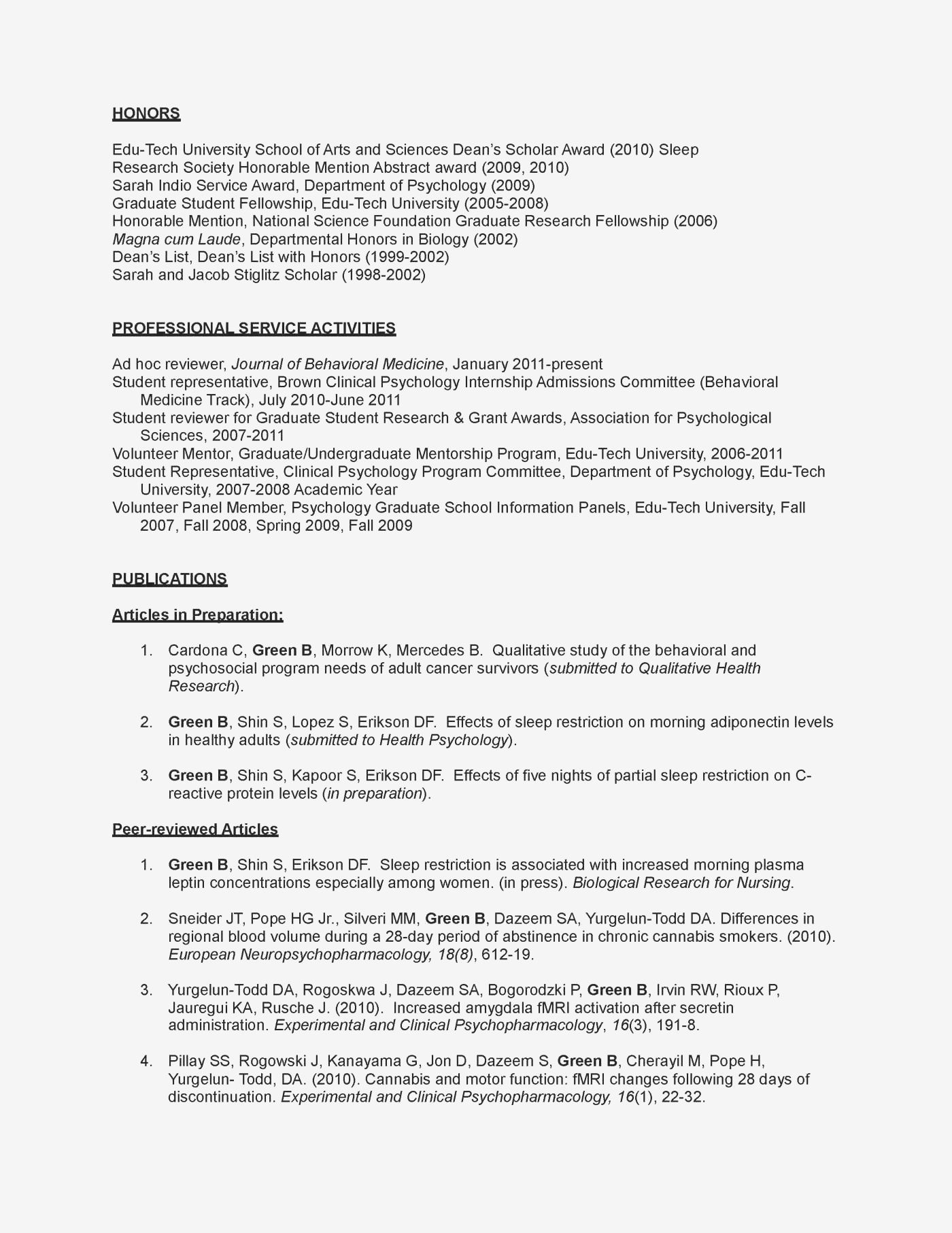 Mental Health Counselor Resume - Sample Counseling Resume