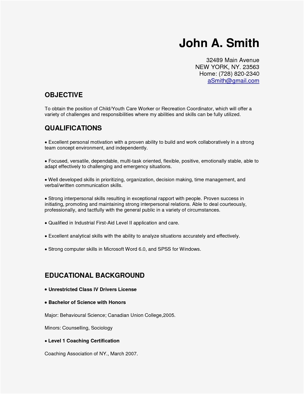 Minimalist Resume - 17 Beautiful Best Free Resume Templates