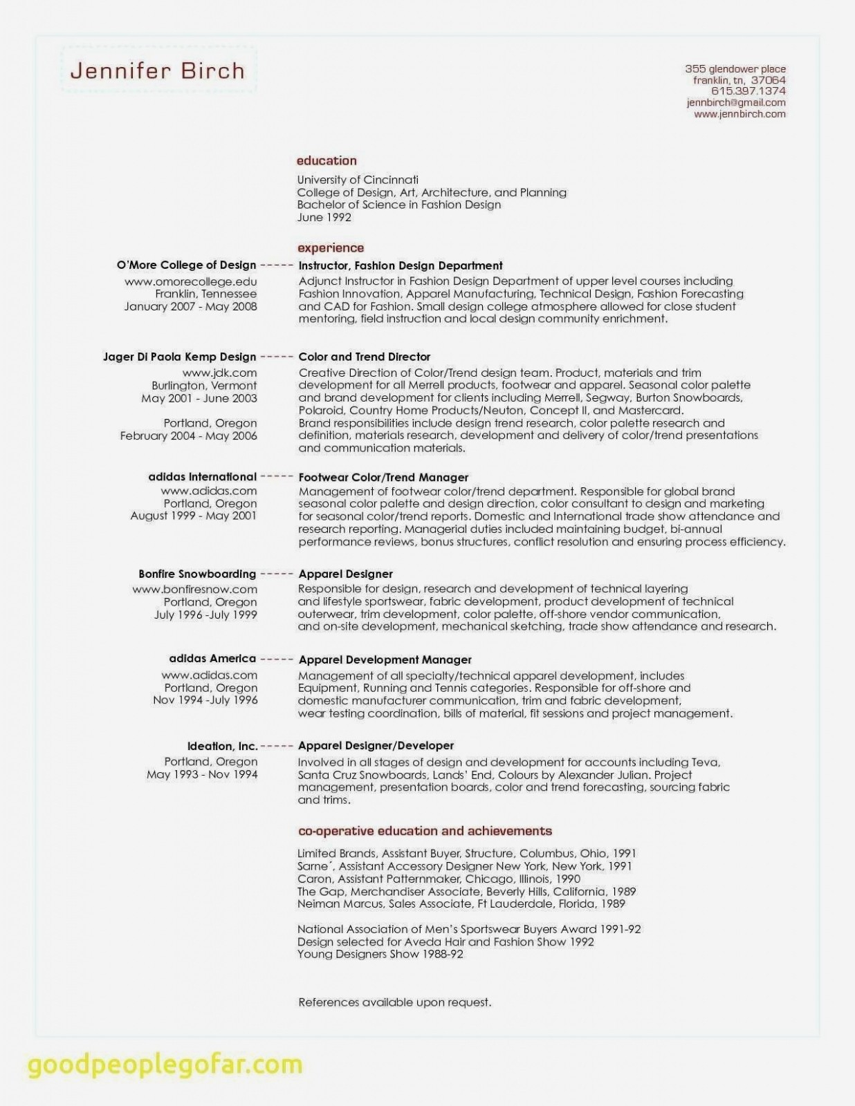 Minimalist Resume - Project Coordinator Resume Inspirationa Senior Manager Resume