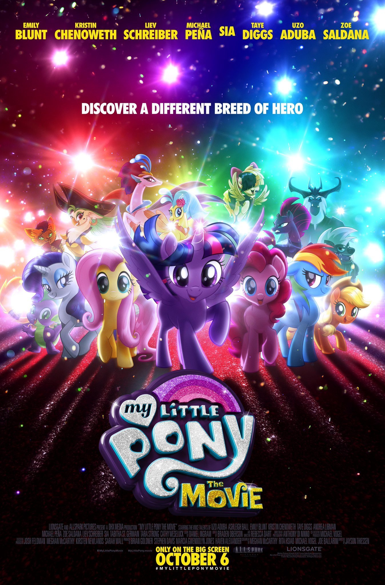 Mlp Resume - My Little Pony the Movie 2017 Wiki