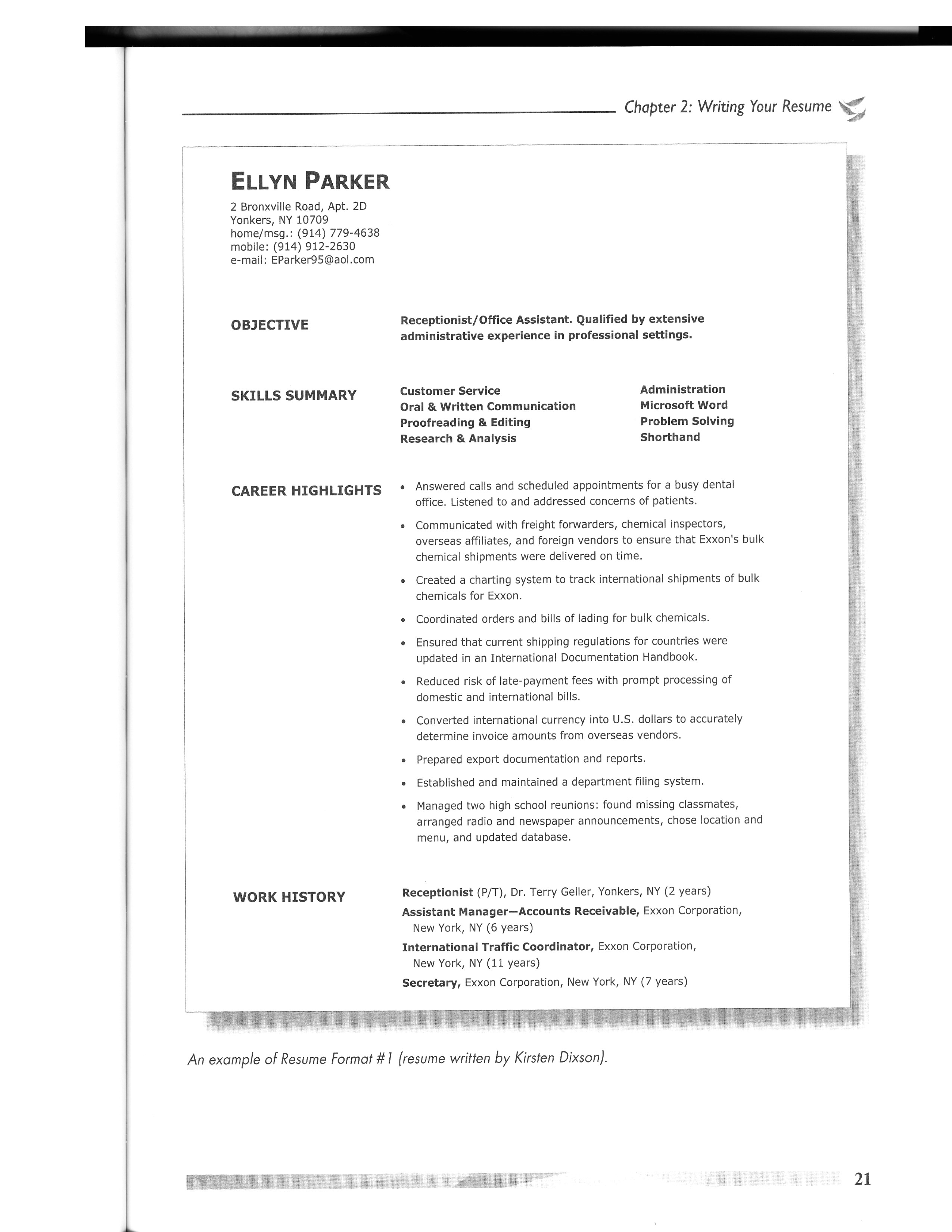 Modeling Resume Template - 37 Concepts Model Resume Template