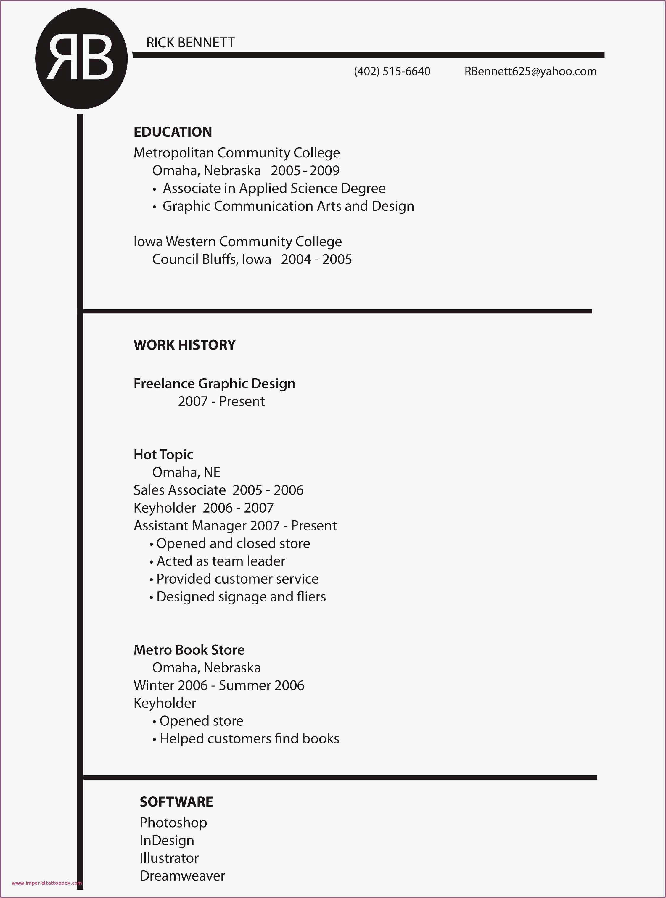 Motion Graphics Resume Template - 23 New Motion Graphics Artist