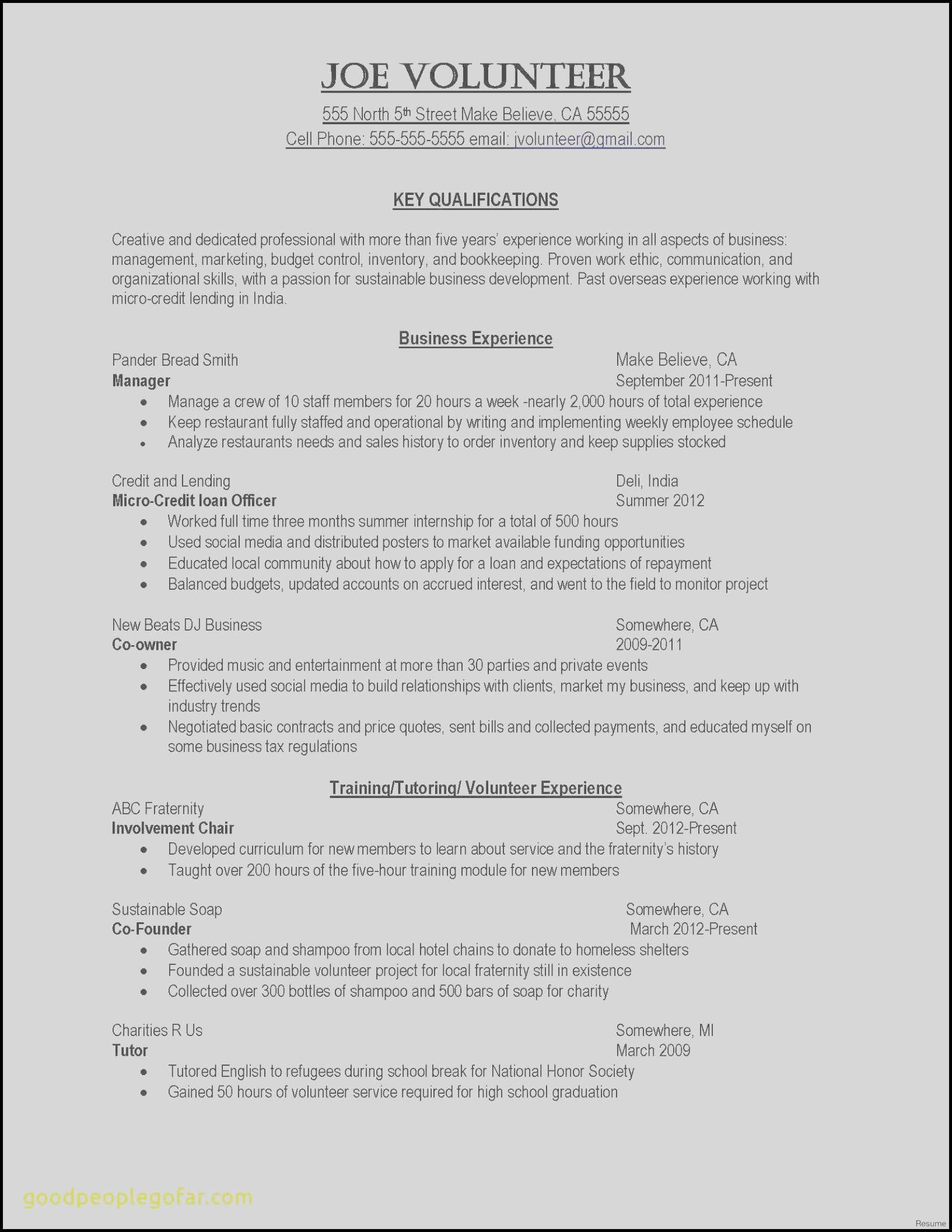 National Honor society Resume Template - Samples Resumes Elegant Cover Letter for Resume Template Awesome
