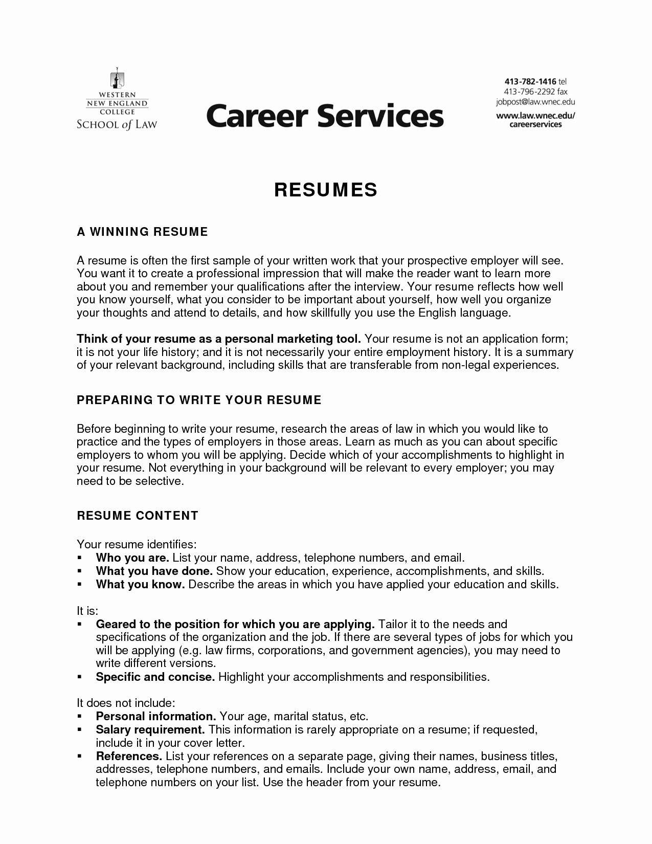 Need A Resume - the 22 Beautiful How to Write Your Resume